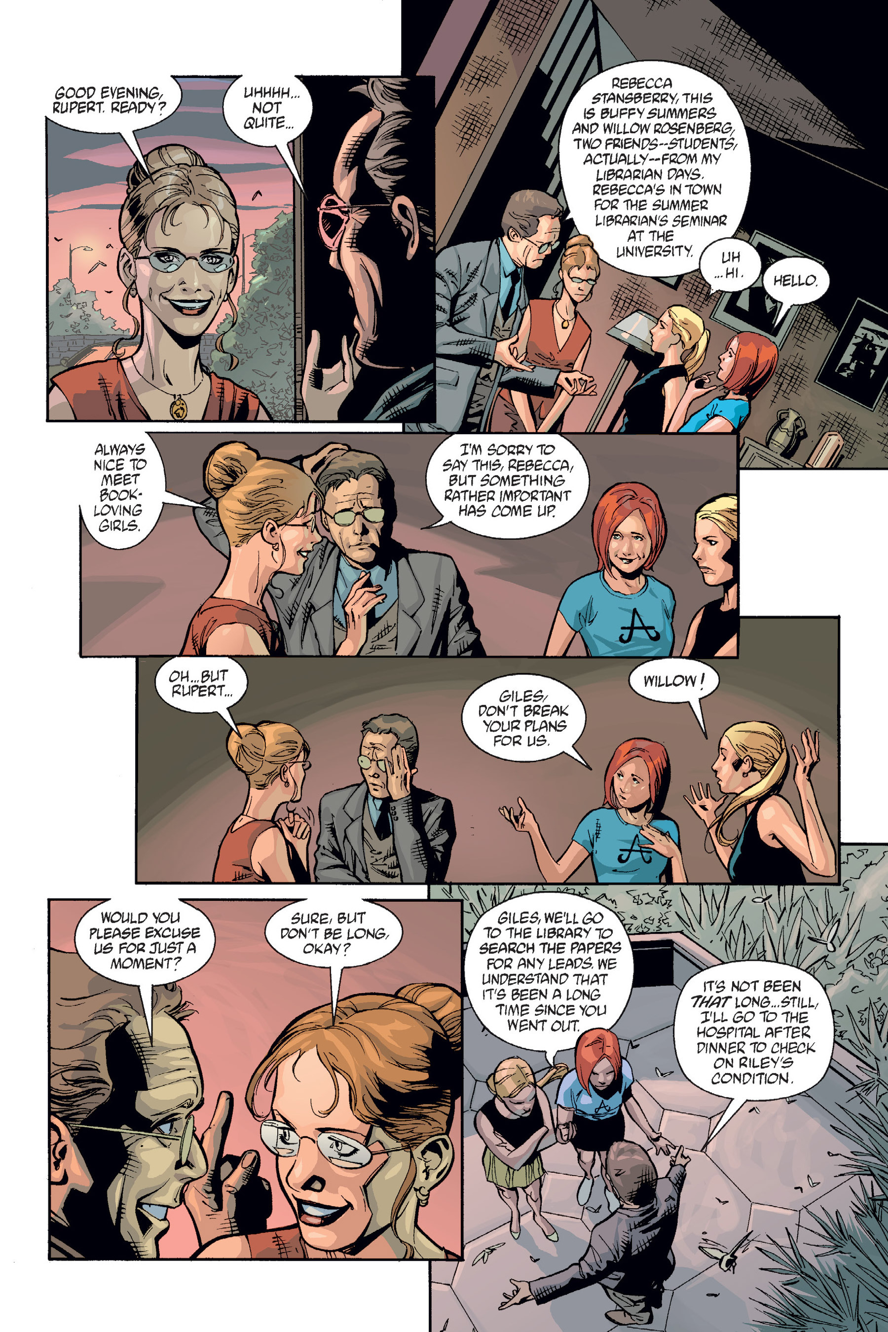 Read online Buffy the Vampire Slayer: Omnibus comic -  Issue # TPB 6 - 191