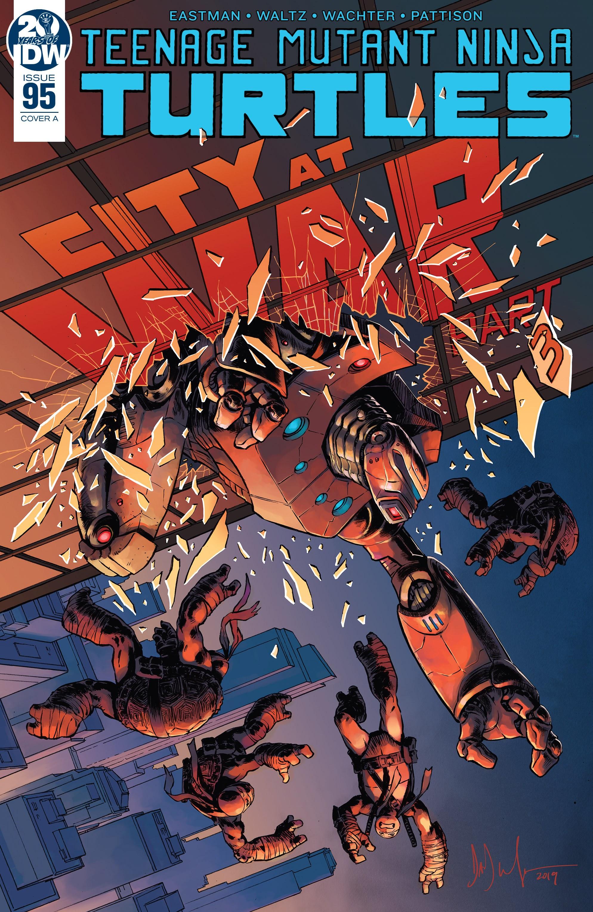 Teenage Mutant Ninja Turtles (2011) 95 Page 1