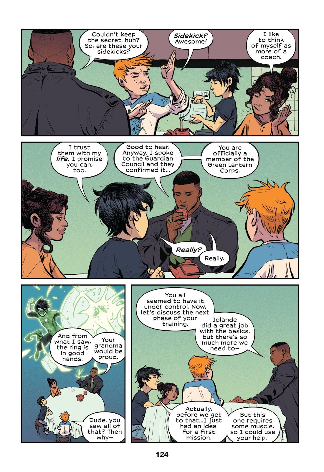 Read online Green Lantern: Legacy comic -  Issue # TPB - 122