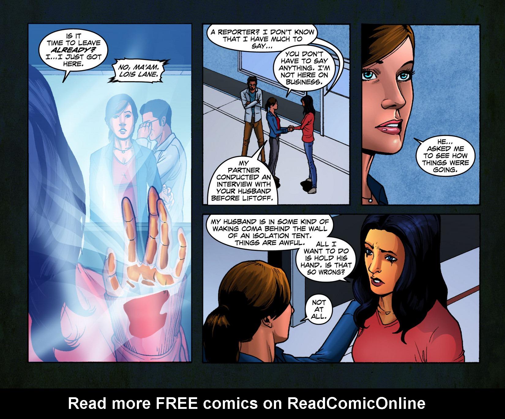 Read online Smallville: Season 11 comic -  Issue #7 - 12