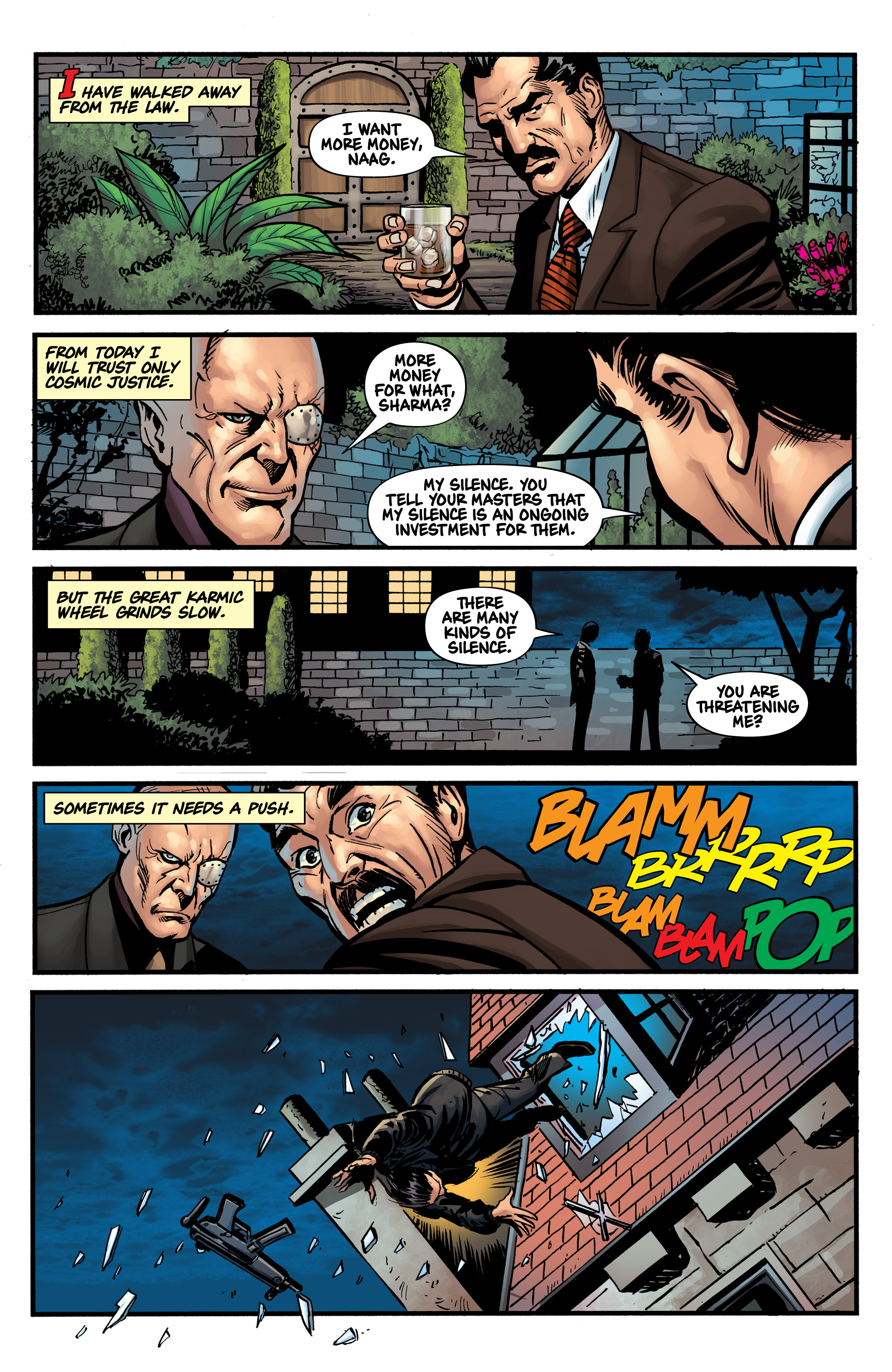 Read online Shadow Tiger comic -  Issue #1 - 21