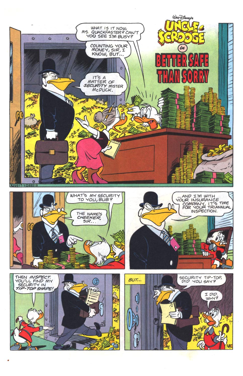 Read online Uncle Scrooge (1953) comic -  Issue #264 - 11
