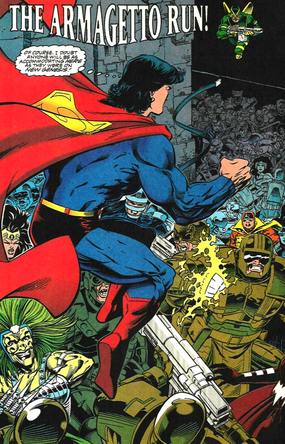 Read online Adventures of Superman (1987) comic -  Issue #518 - 3