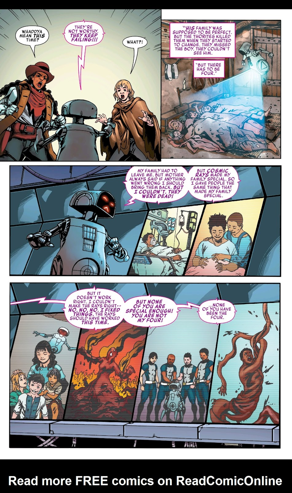 Read online Fantastic Four 2099 (2019) comic -  Issue # Full - 29