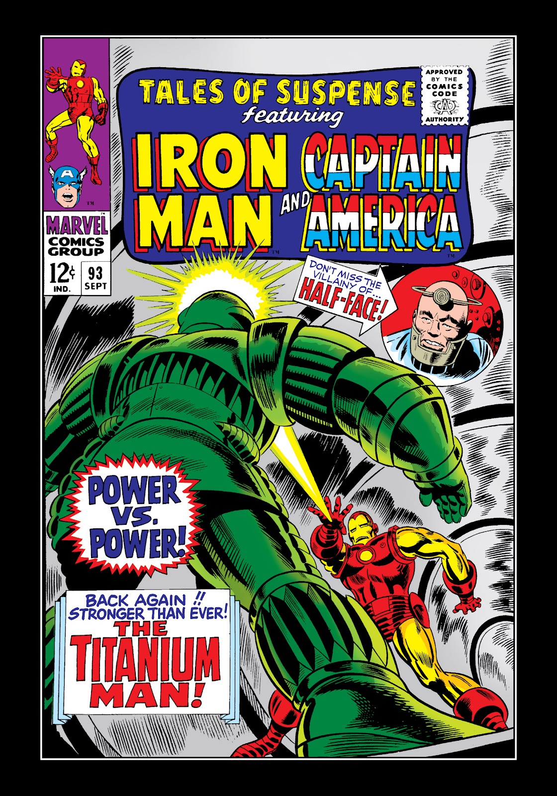 Read online Marvel Masterworks: The Invincible Iron Man comic -  Issue # TPB 4 (Part 2) - 23