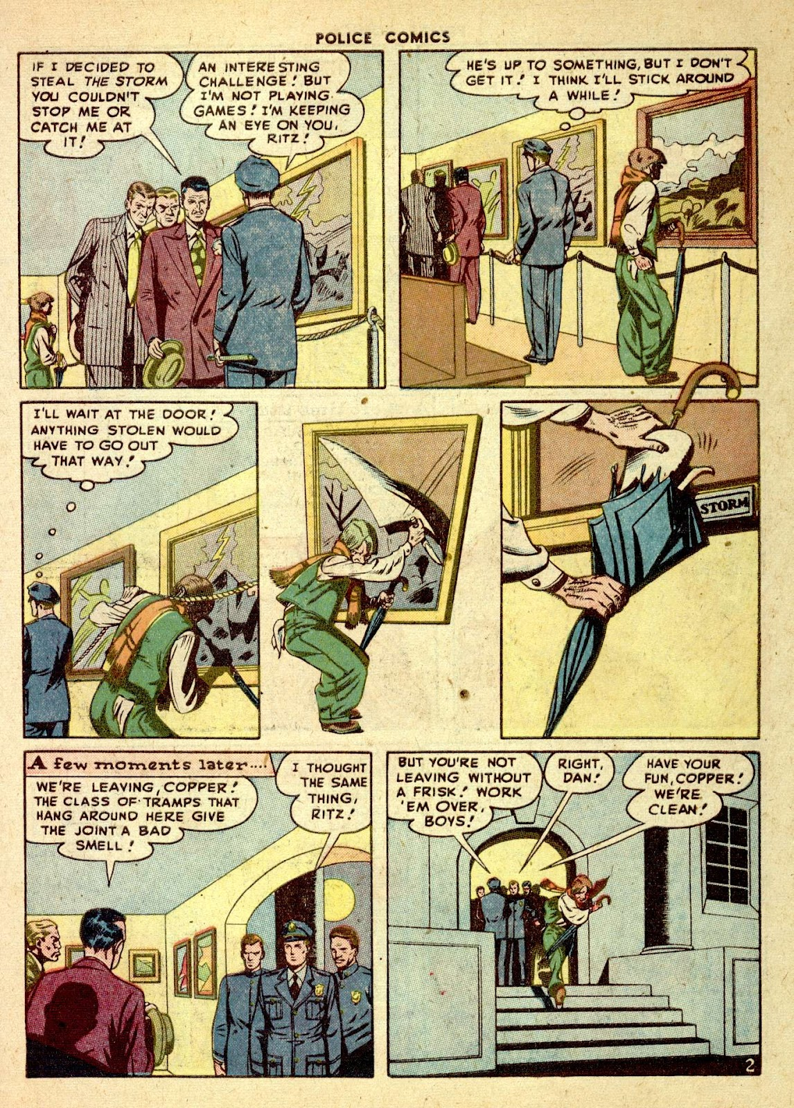 Police Comics issue 76 - Page 43
