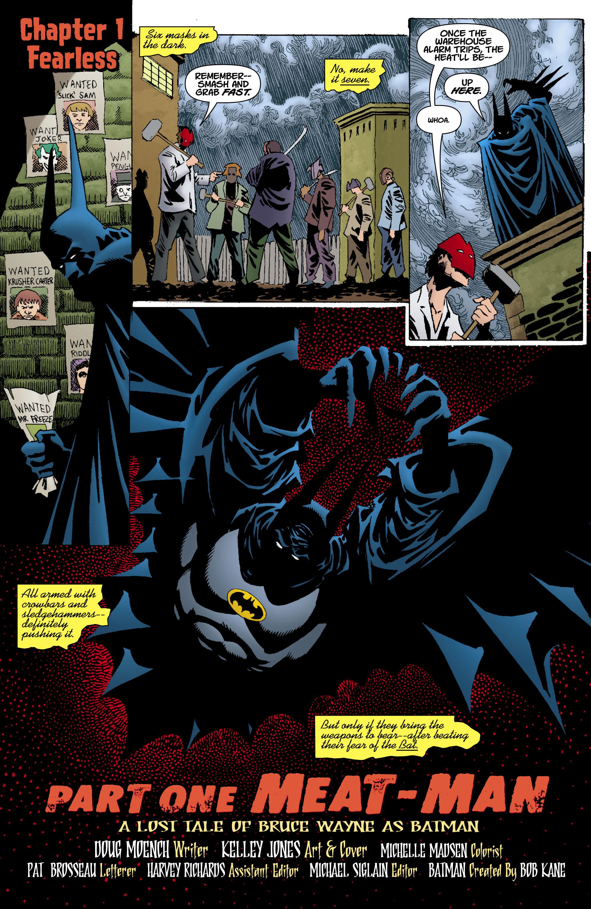 Read online Batman: Unseen comic -  Issue #1 - 2