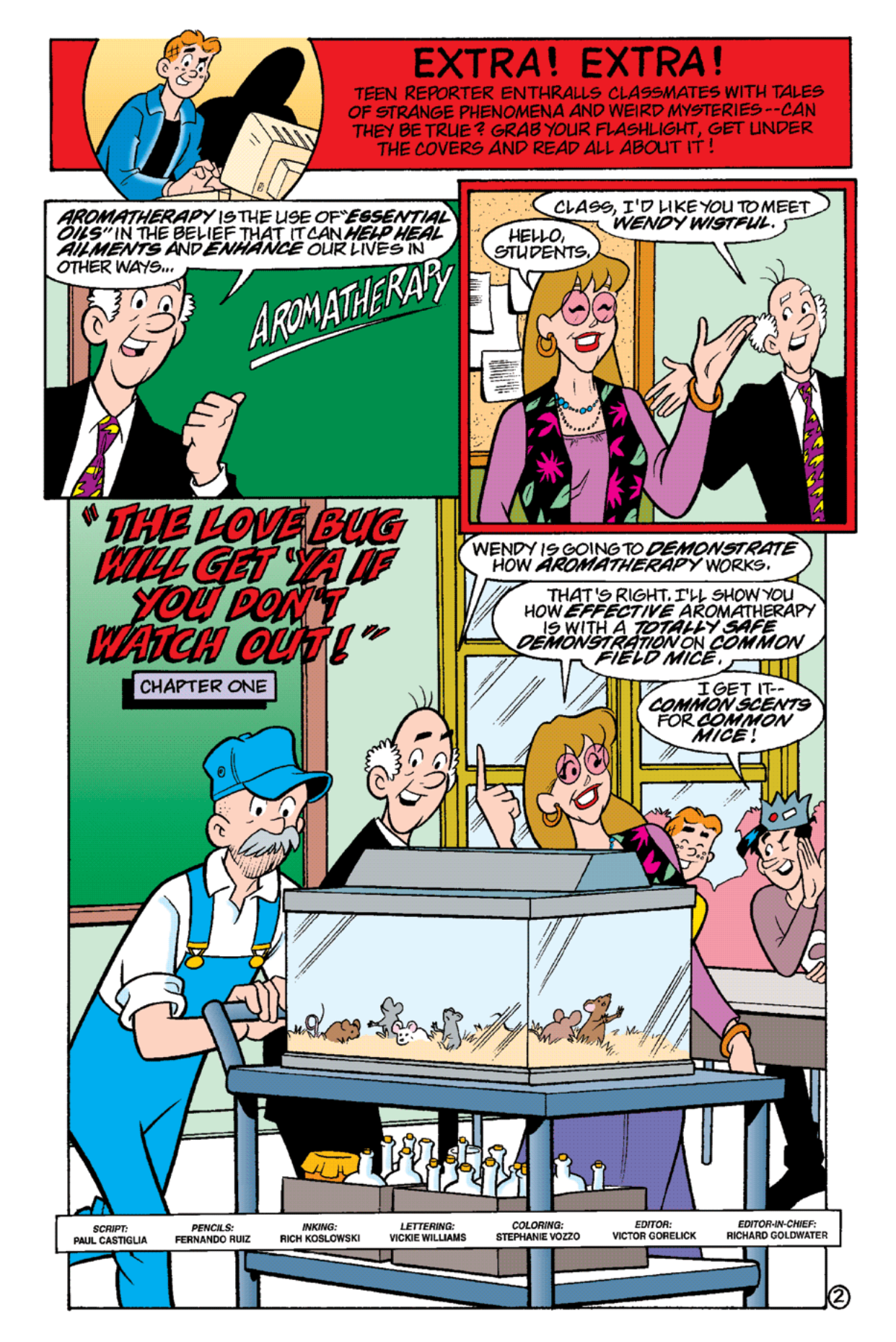 Read online Archie's Weird Mysteries comic -  Issue #19 - 4