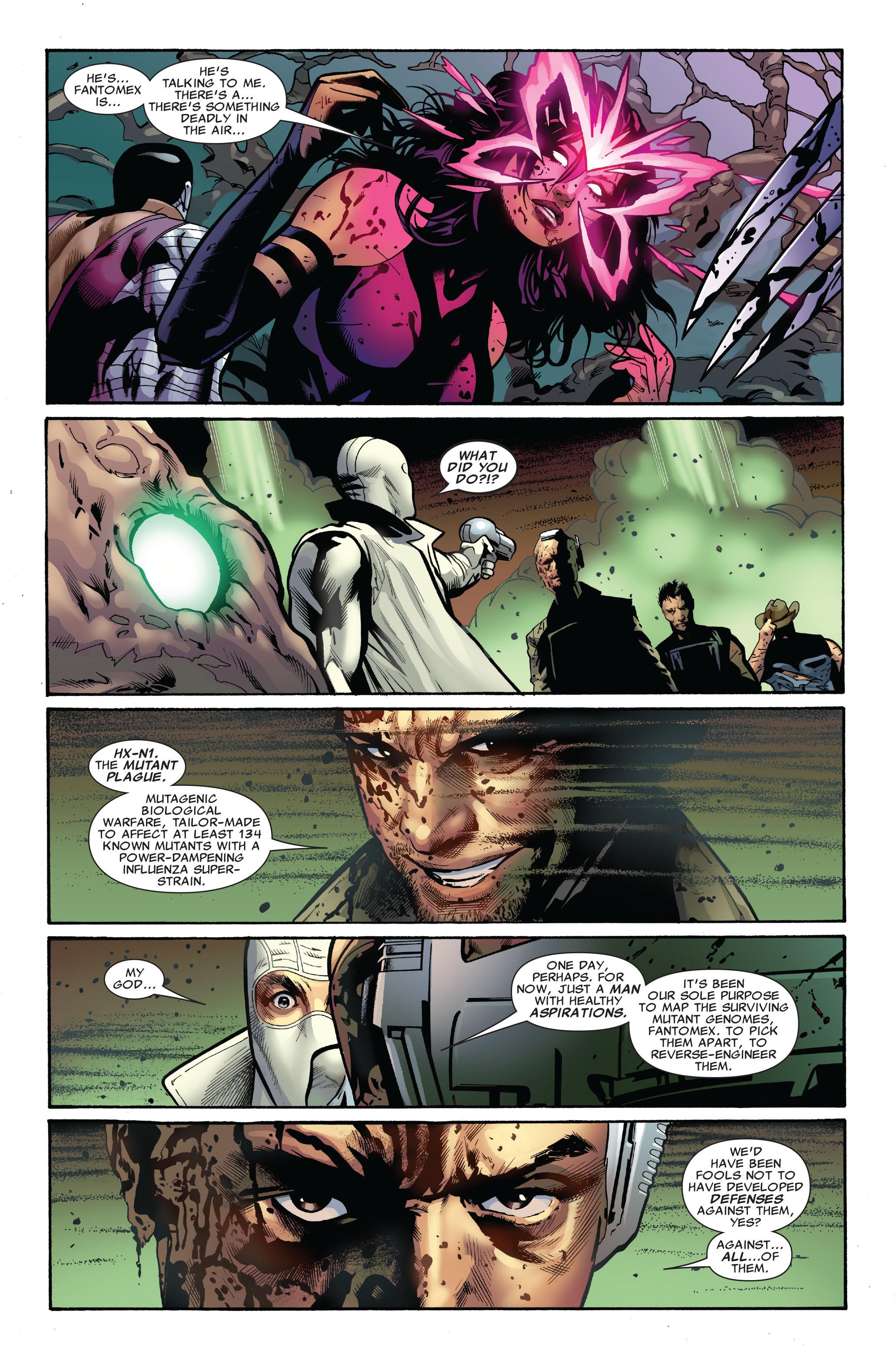 Read online Uncanny X-Men (1963) comic -  Issue #521 - 19