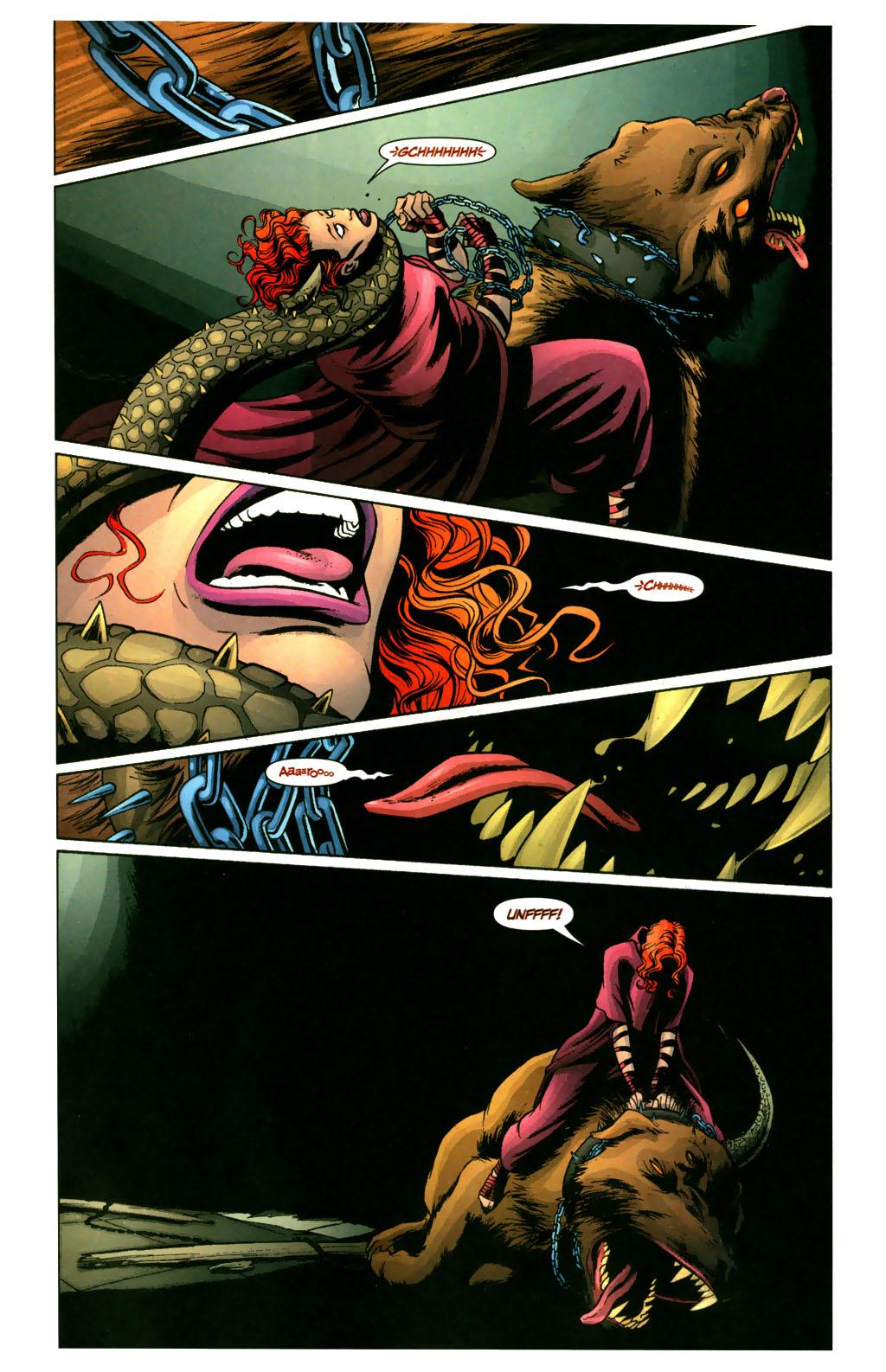 Read online Fallen Angel (2003) comic -  Issue #9 - 16