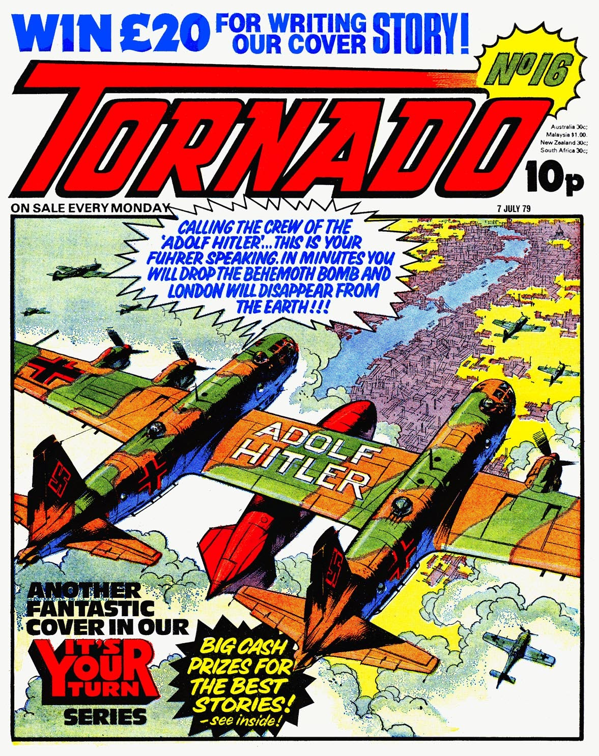 Tornado issue 16 - Page 1