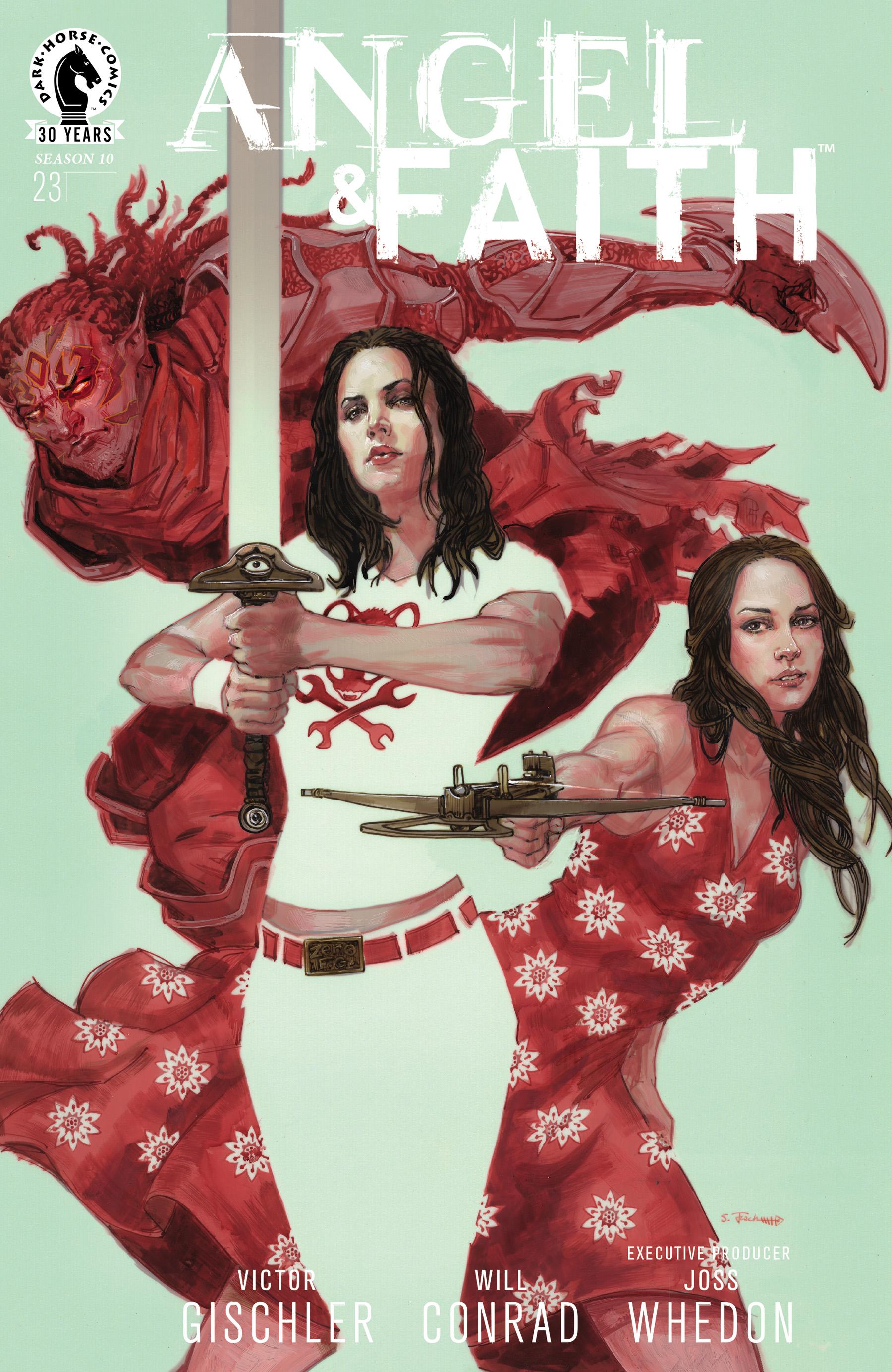 Read online Angel & Faith Season 10 comic -  Issue #23 - 1