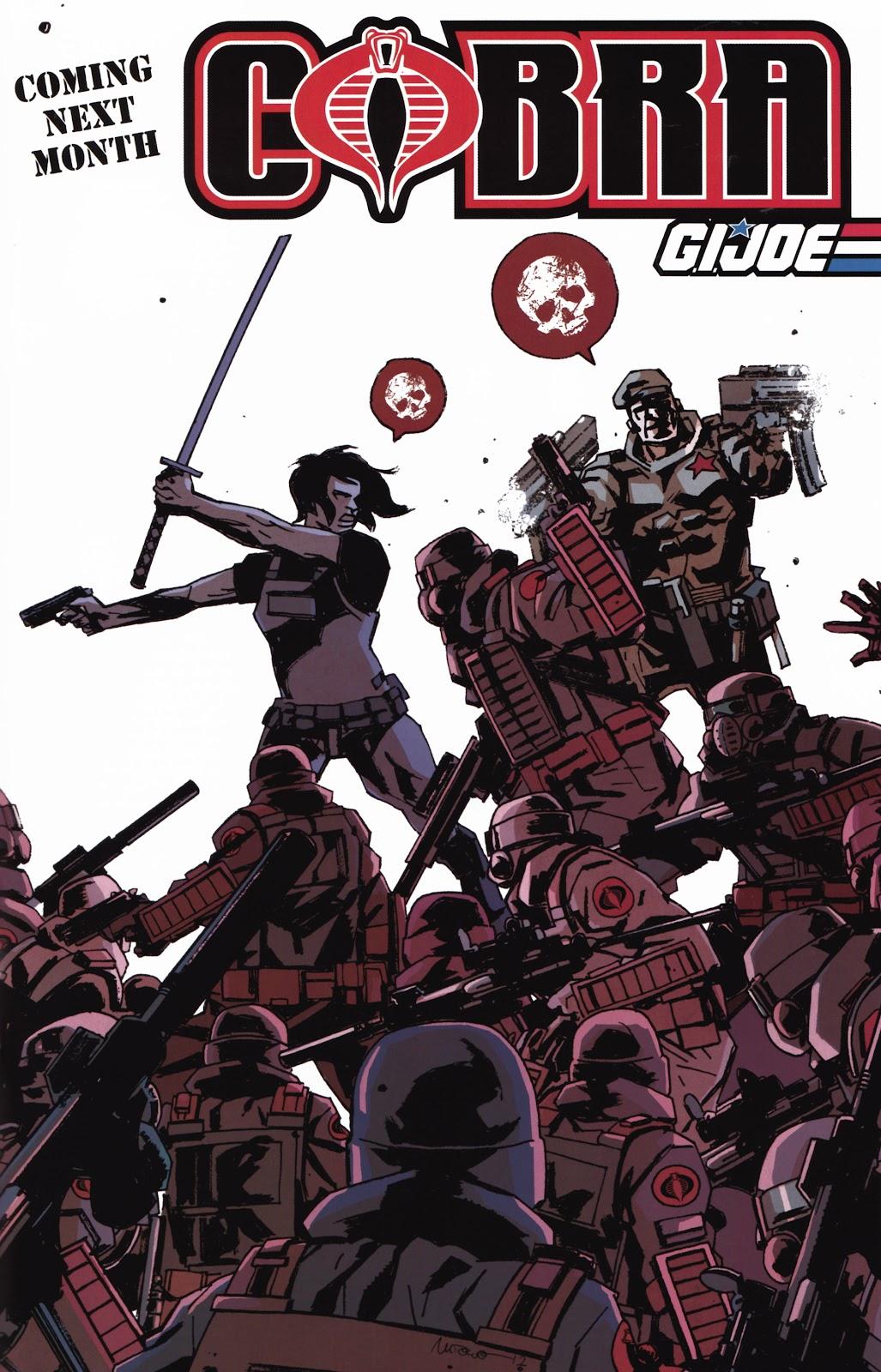 G.I. Joe Cobra (2011) Issue #20 #20 - English 25