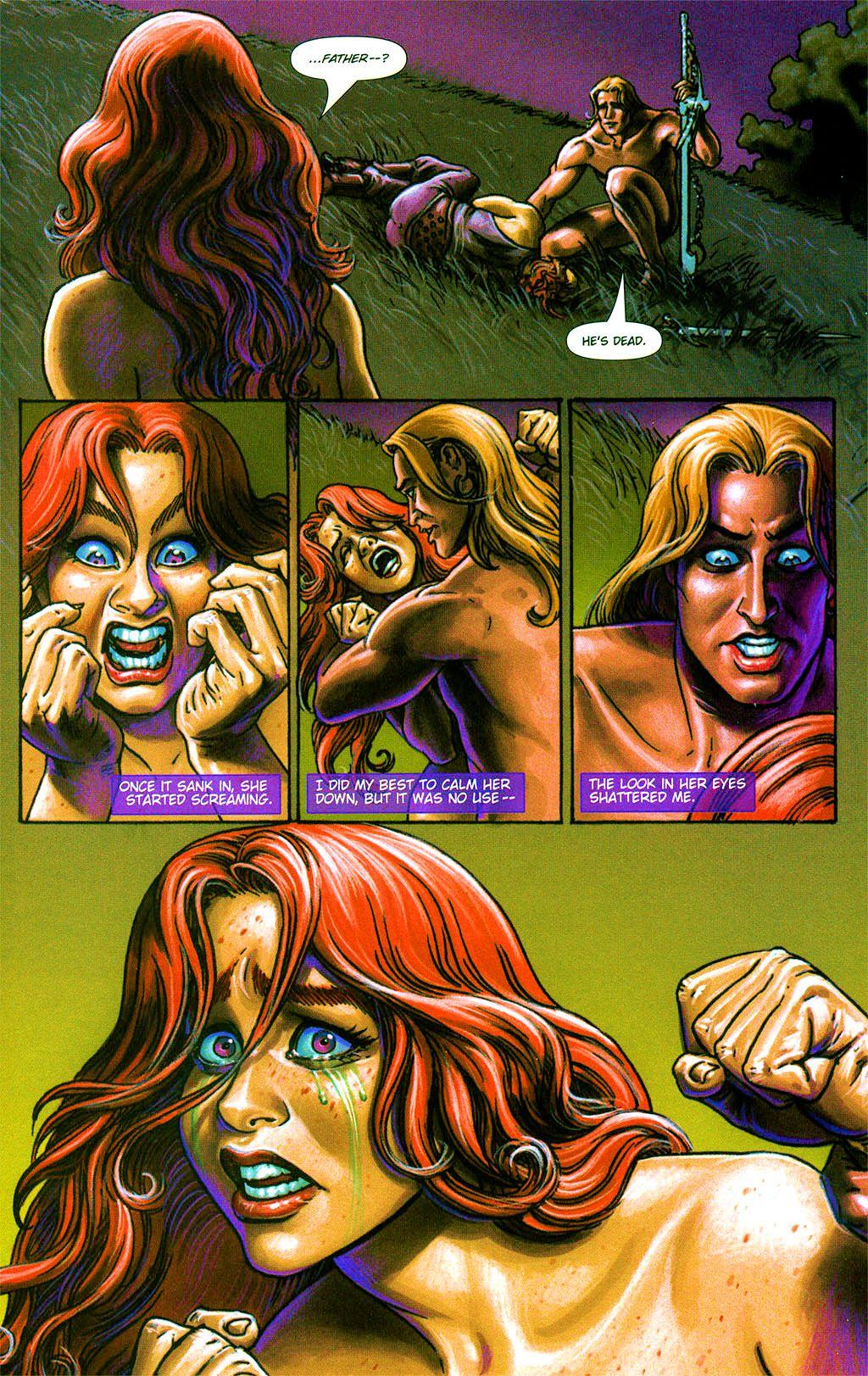 Read online Dawn: Three Tiers comic -  Issue #2 - 20