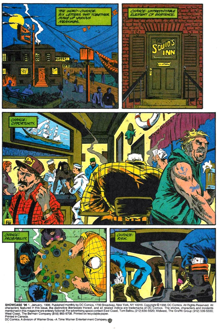 Read online Showcase '96 comic -  Issue #1 - 2