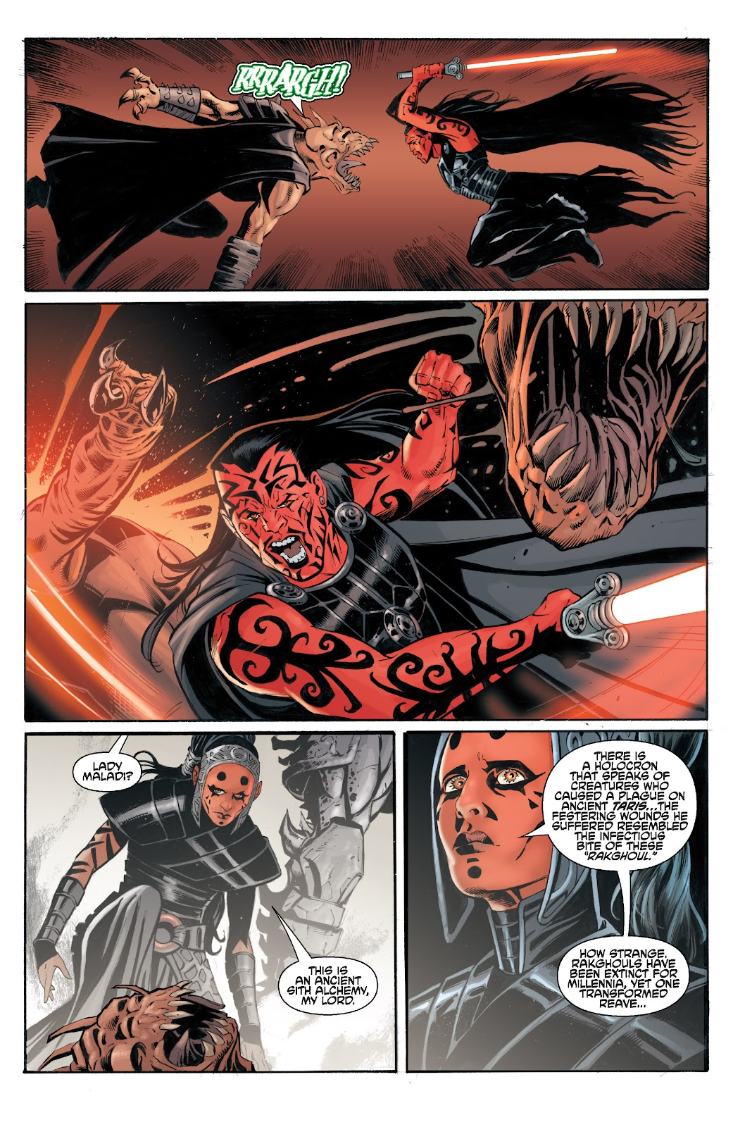 Read online Star Wars Legends: Legacy - Epic Collection comic -  Issue # TPB 2 (Part 3) - 48