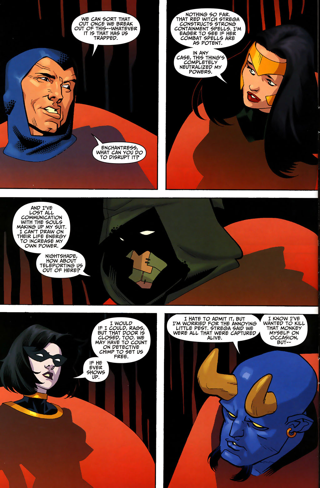 Read online Shadowpact comic -  Issue #3 - 4