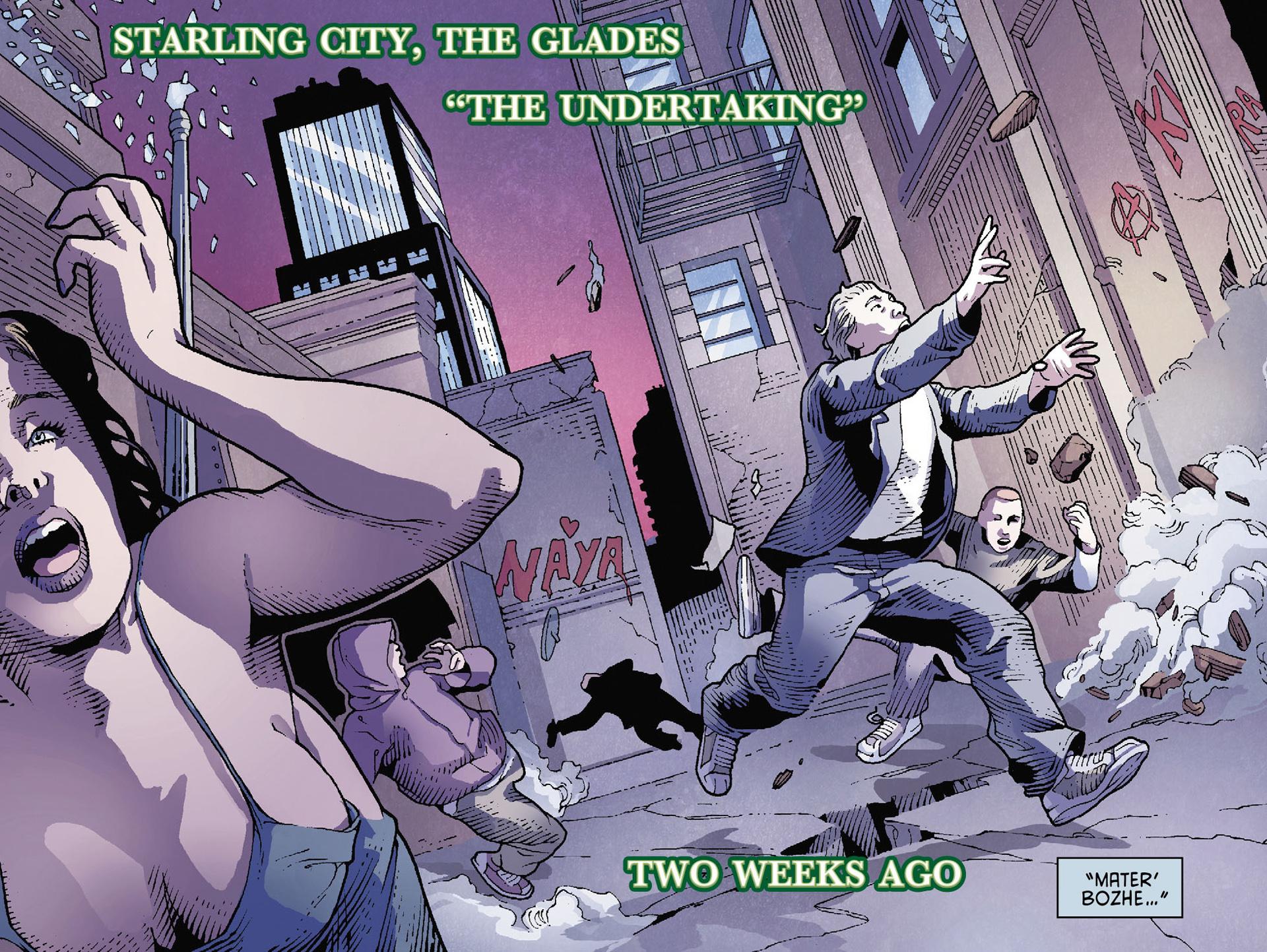 Read online Arrow [II] comic -  Issue #35 - 3