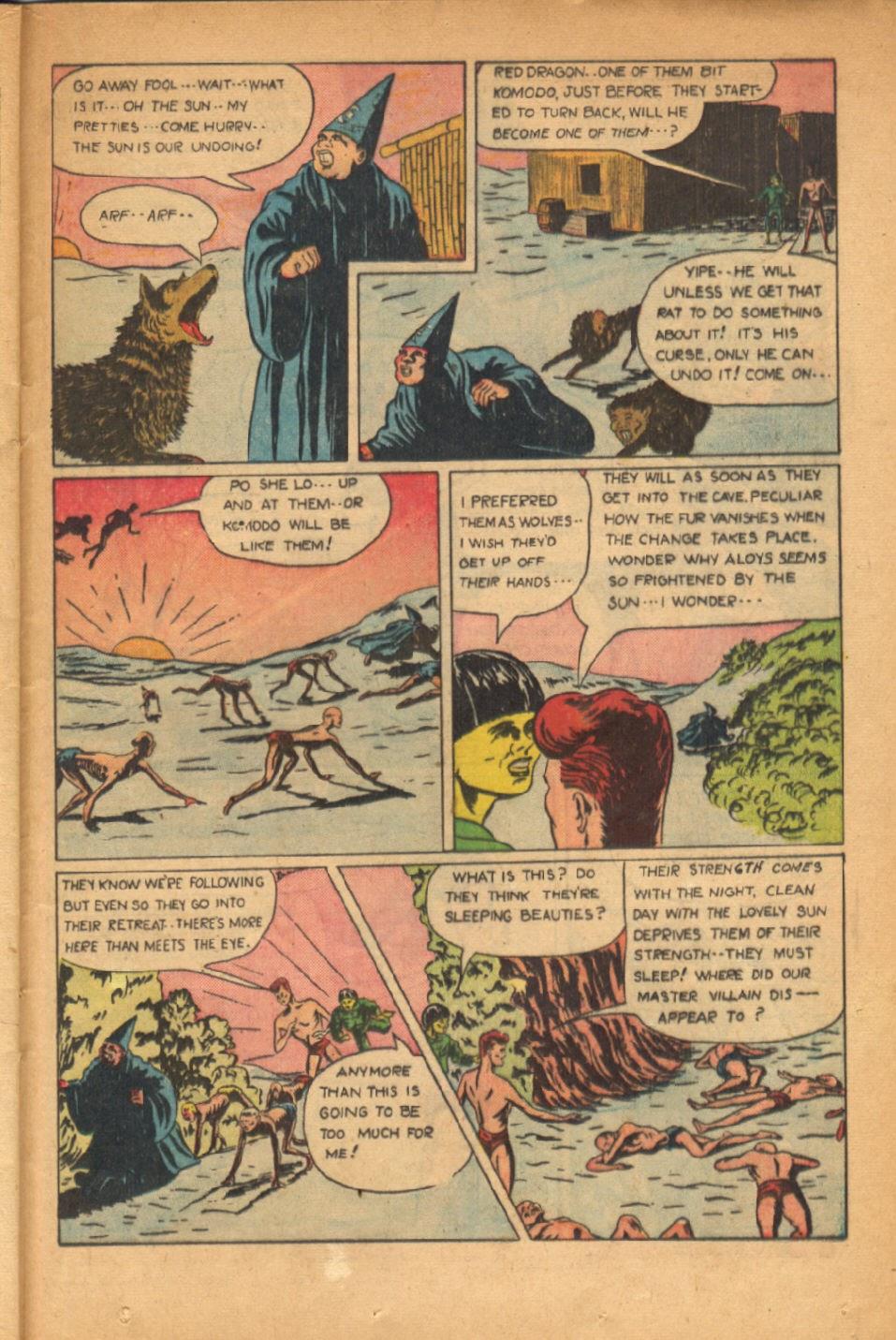 Read online Super-Magician Comics comic -  Issue #54 - 34
