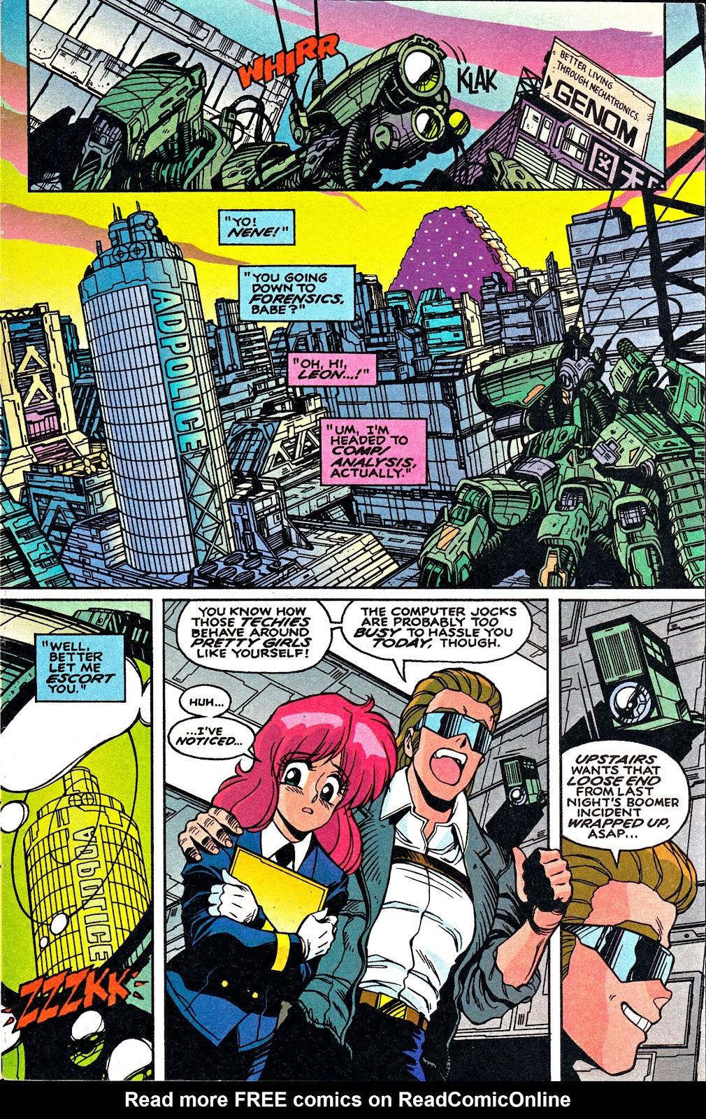 Bubblegum Crisis: Grand Mal issue 2 - Page 3
