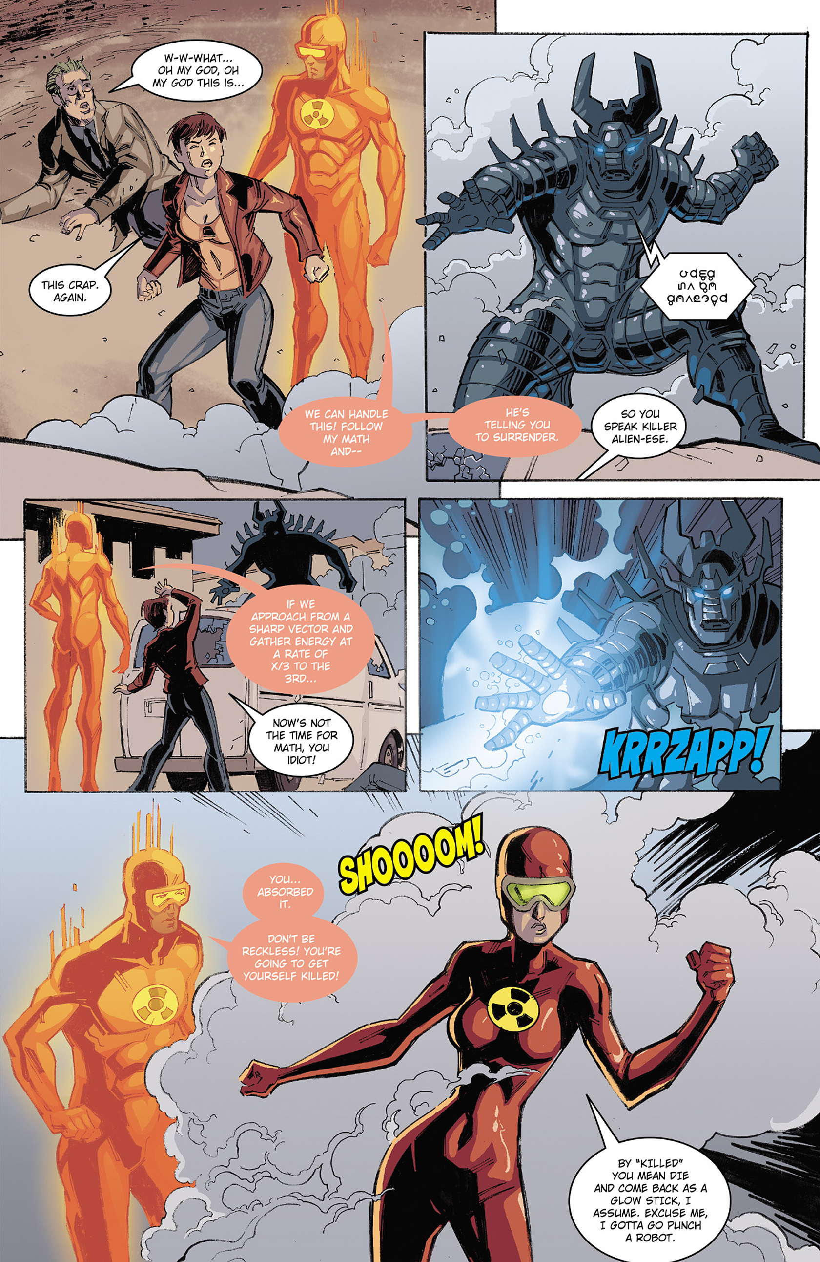 Read online Solar: Man of the Atom (2014) comic -  Issue #3 - 17