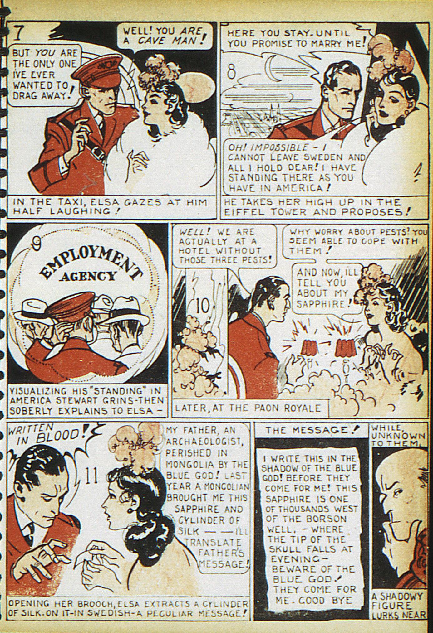 Read online Adventure Comics (1938) comic -  Issue #15 - 31