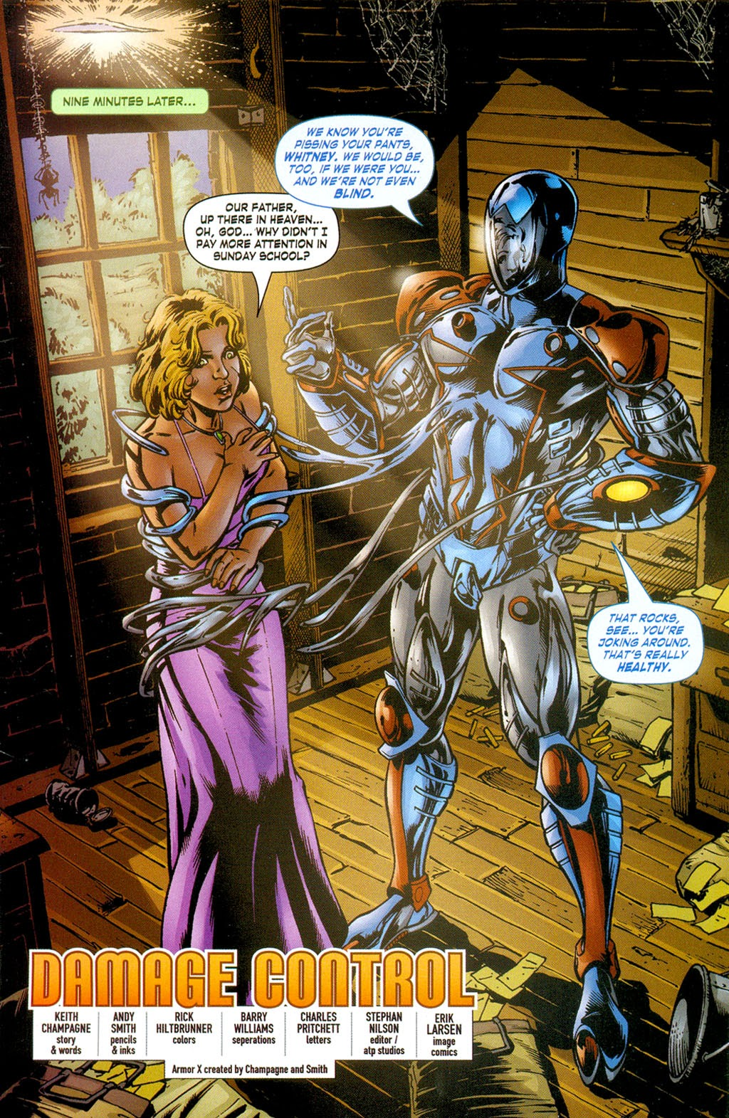 Read online ArmorX comic -  Issue #3 - 3