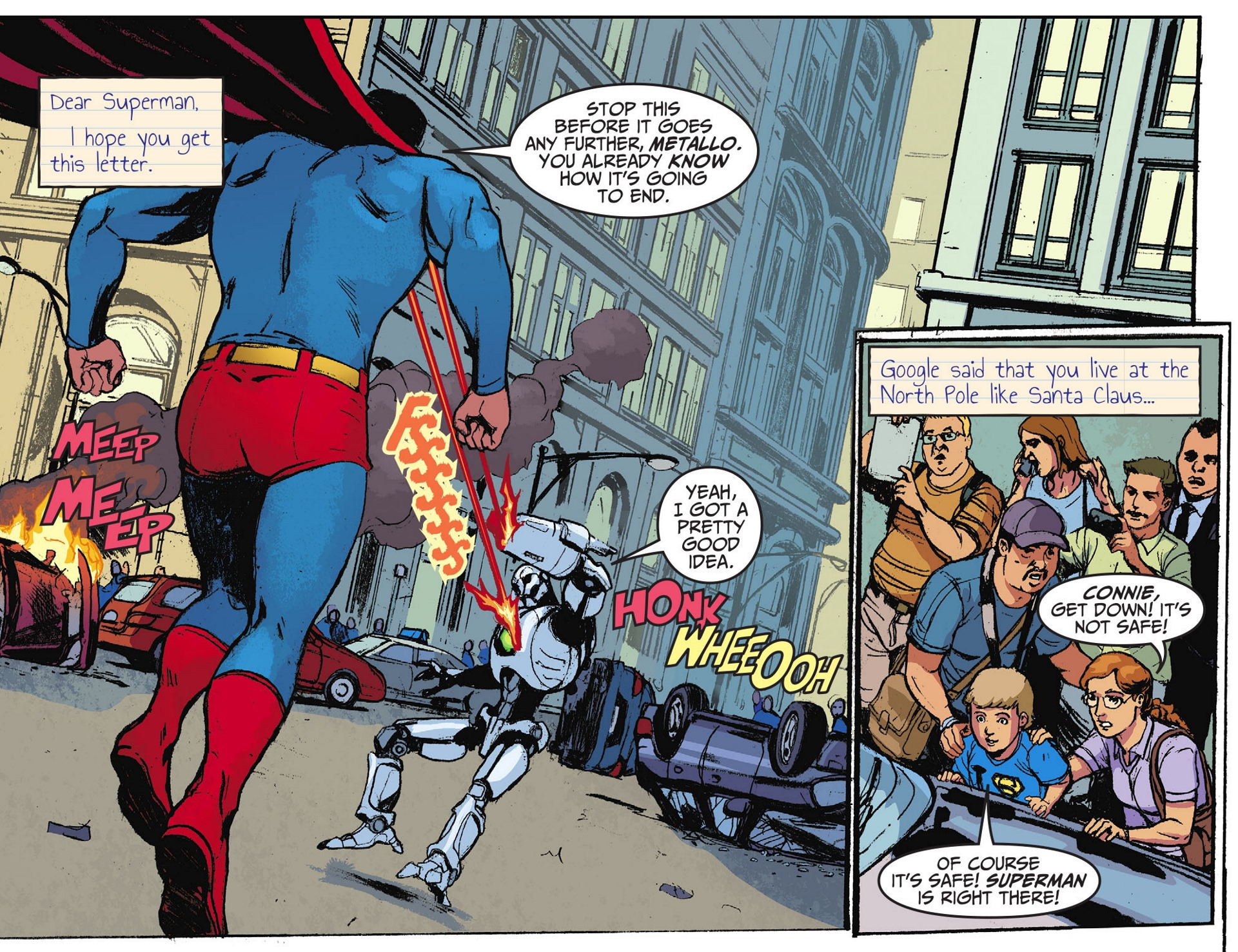 Read online Adventures of Superman [I] comic -  Issue #28 - 3