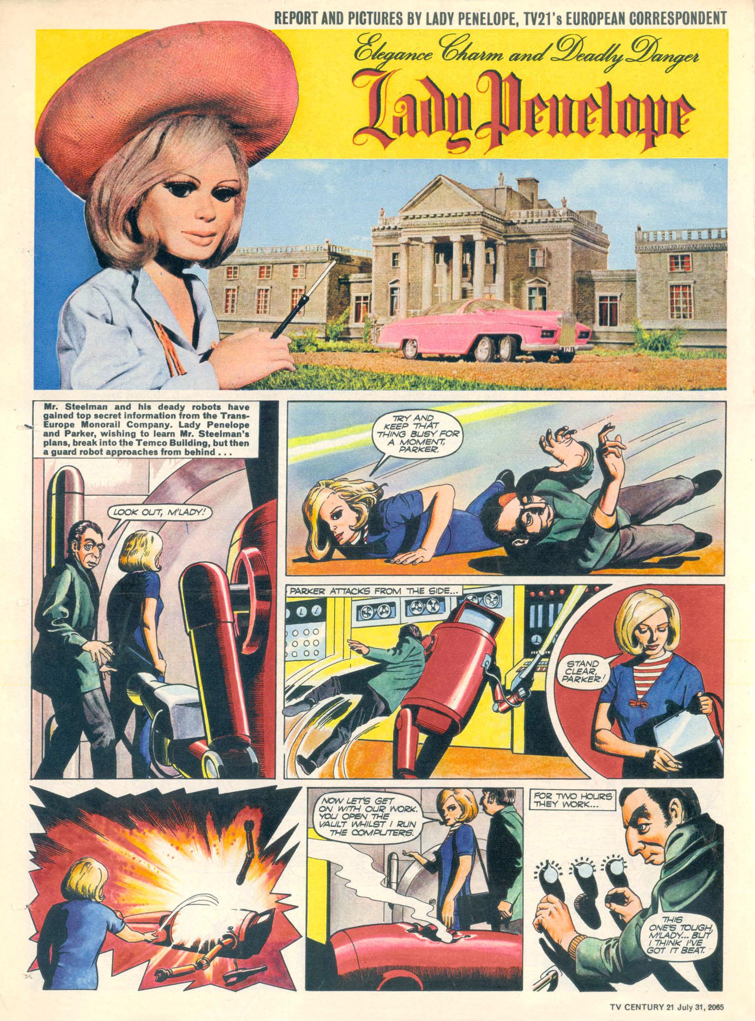 Read online TV Century 21 (TV 21) comic -  Issue #28 - 22