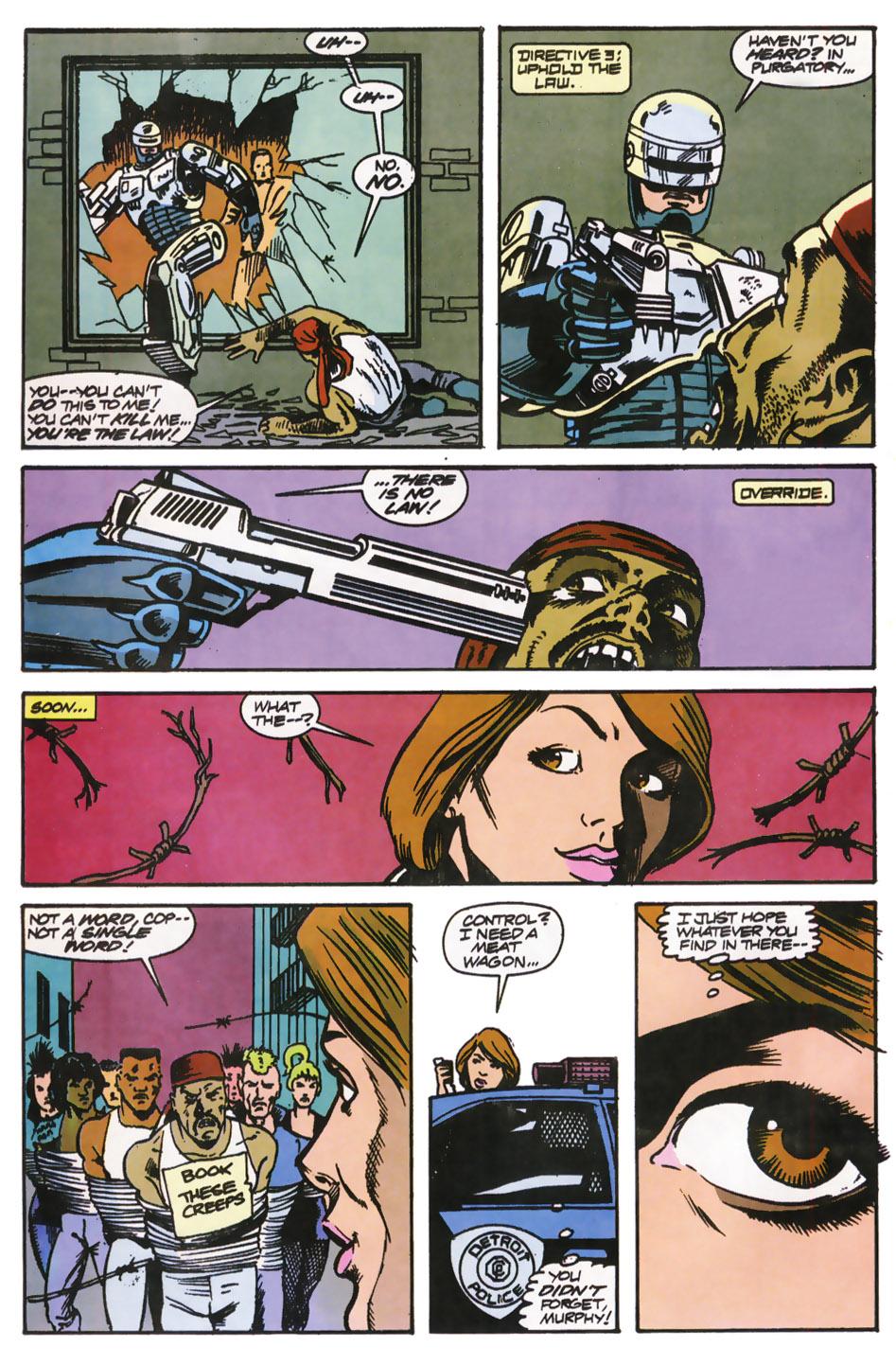 Read online Robocop (1990) comic -  Issue #12 - 22