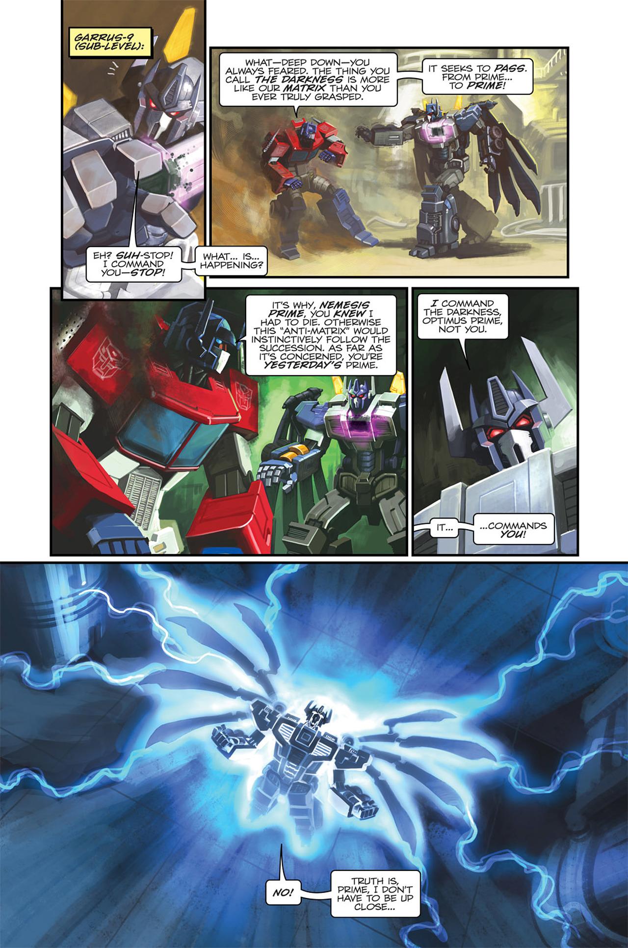 Read online Transformers Spotlight: Sideswipe comic -  Issue # Full - 13
