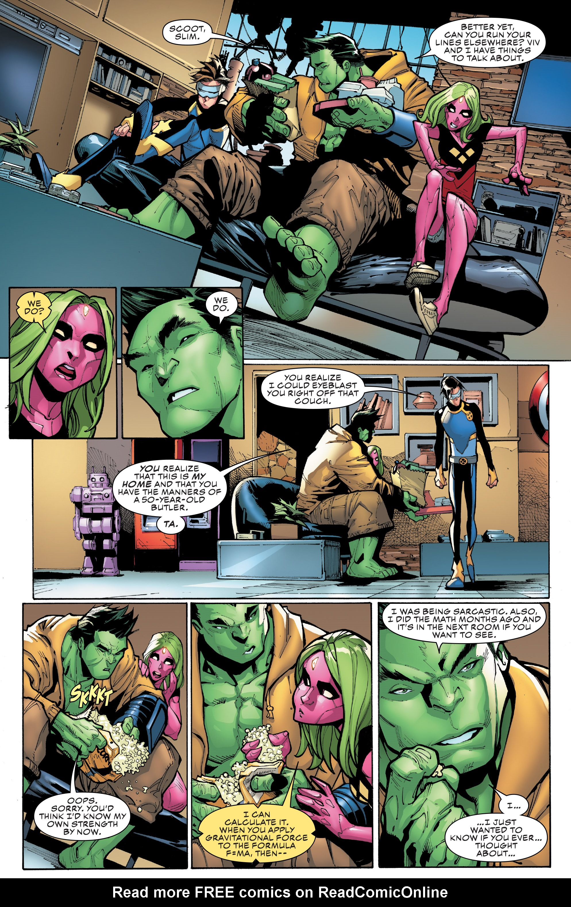Read online Champions (2016) comic -  Issue #8 - 13