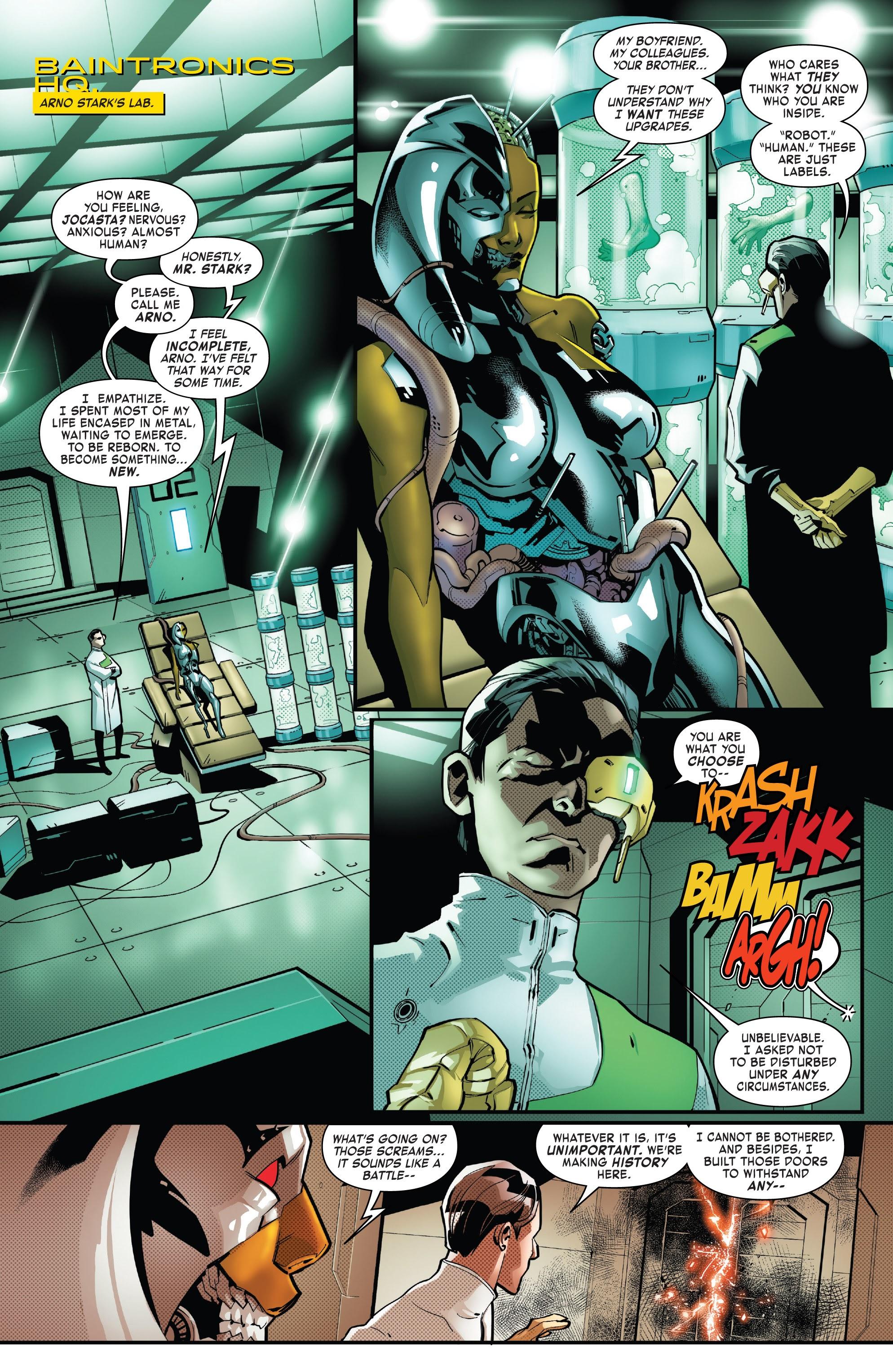 Read online Tony Stark: Iron Man comic -  Issue #16 - 2
