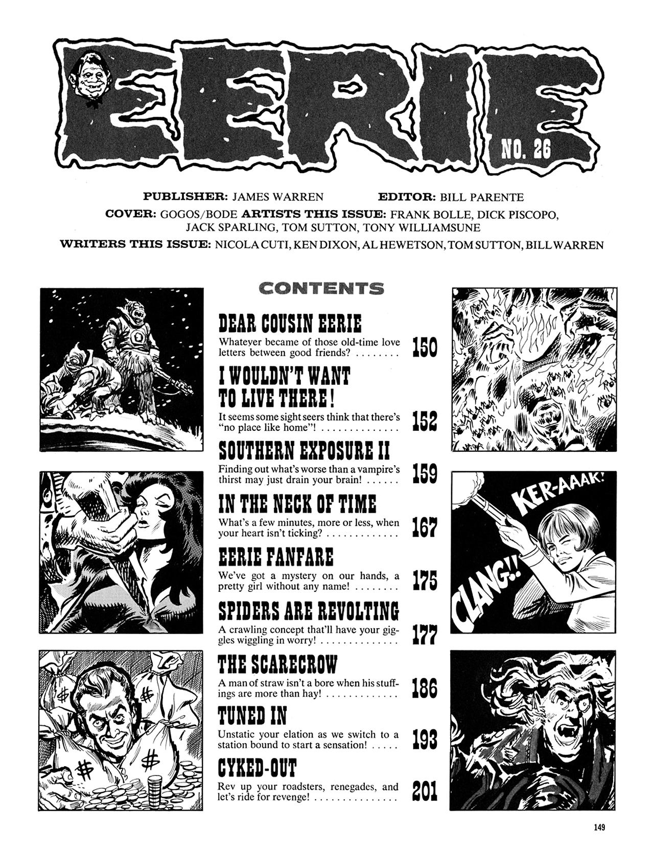 Read online Eerie Archives comic -  Issue # TPB 5 - 150