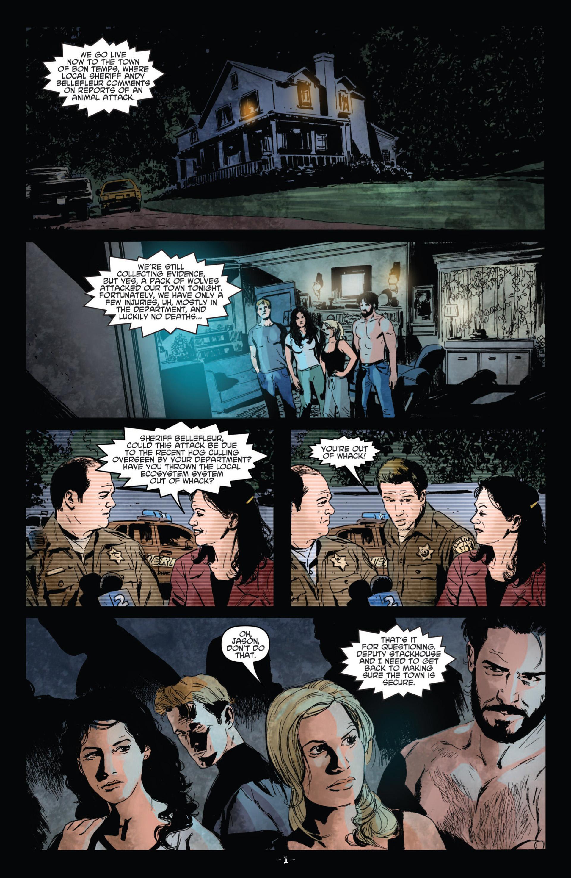 Read online True Blood (2012) comic -  Issue #10 - 3