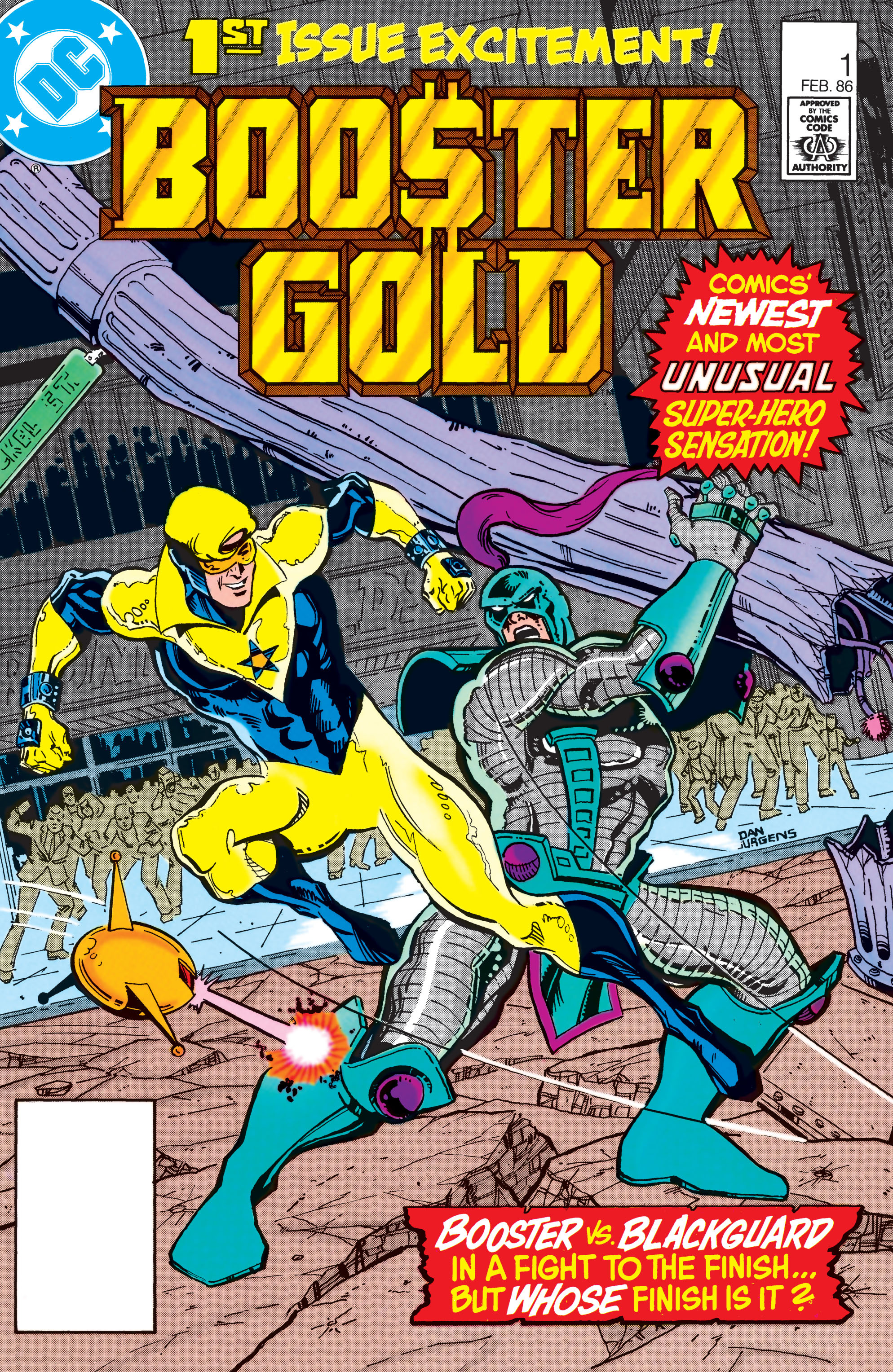 Booster Gold 1986 Issue 1