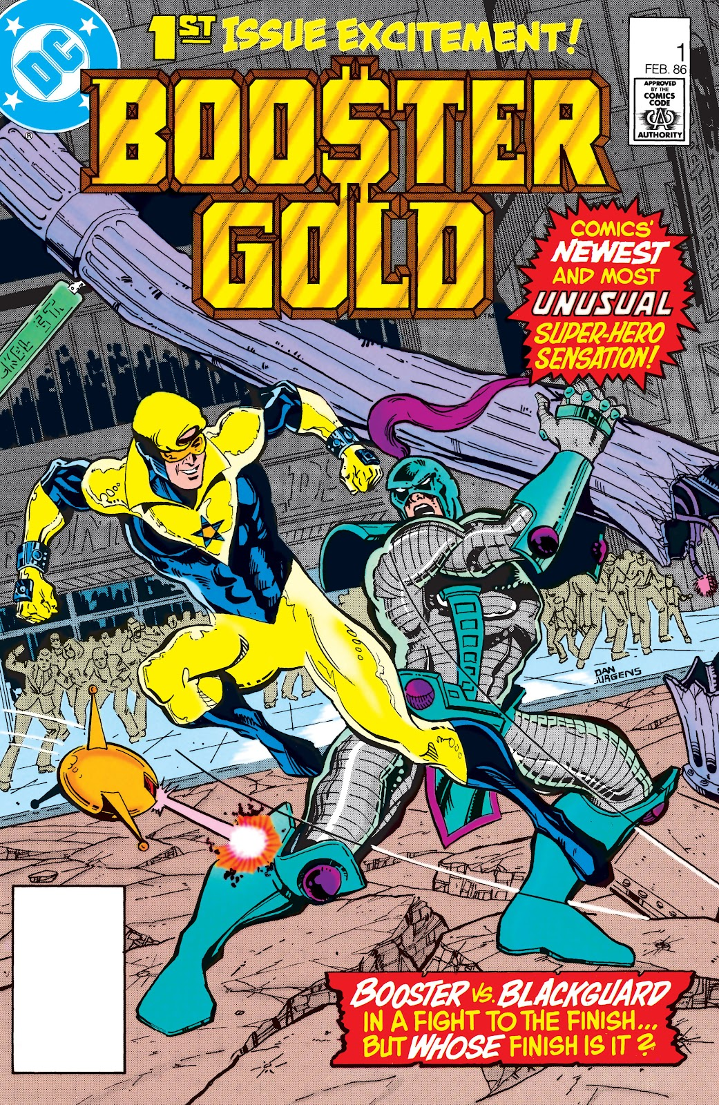 Booster Gold (1986) issue 1 - Page 1