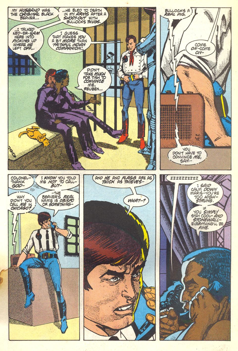 Read online American Flagg! comic -  Issue #17 - 14