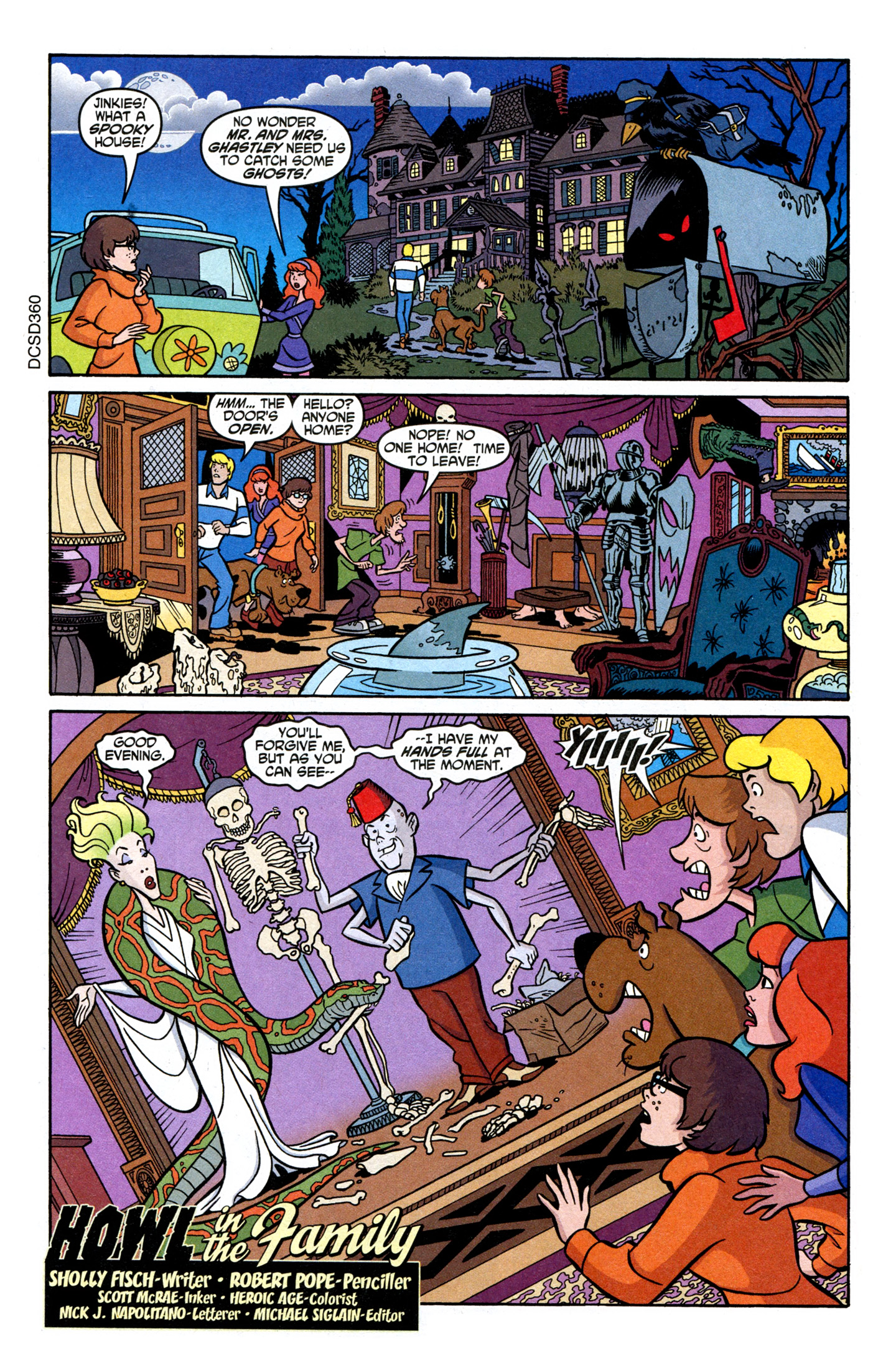 Read online Scooby-Doo (1997) comic -  Issue #107 - 3