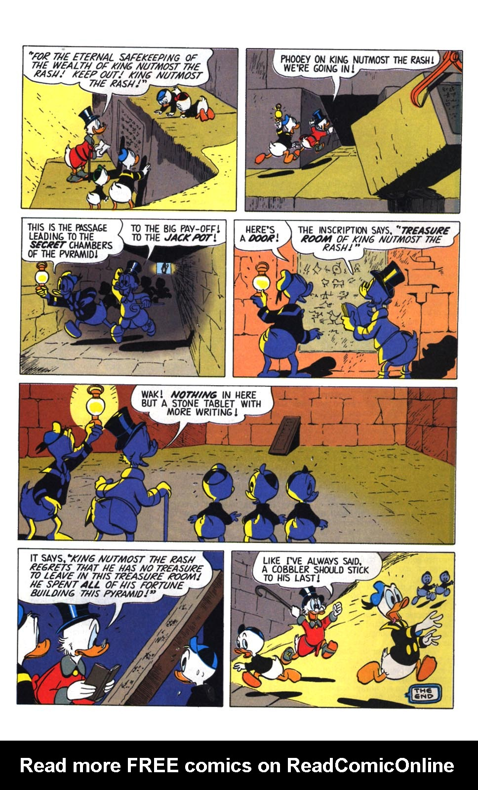 Read online Uncle Scrooge (1953) comic -  Issue #255 - 28