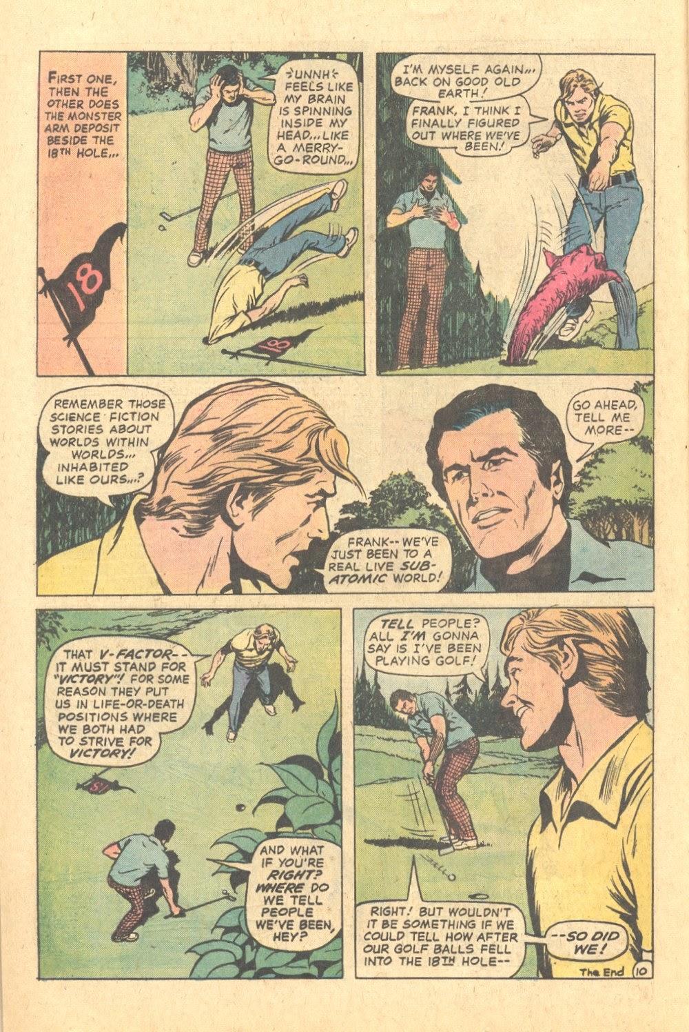 Read online Strange Sports Stories (1973) comic -  Issue #6 - 11