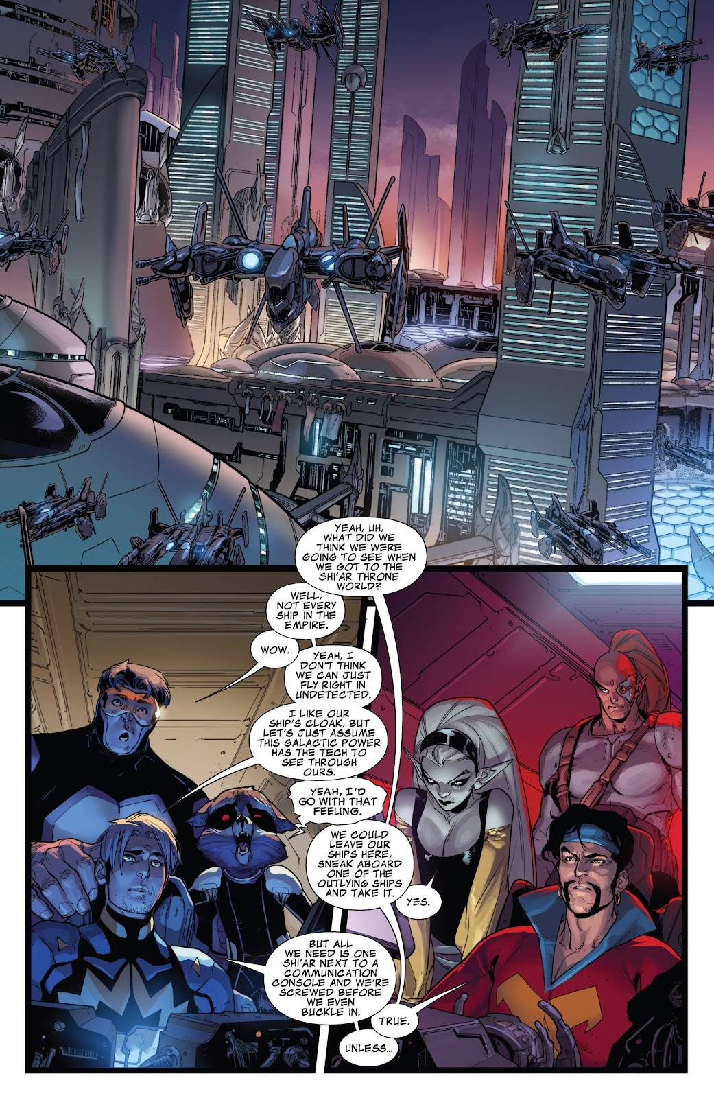 Guardians of the Galaxy/All-New X-Men: The Trial of Jean Grey issue TPB - Page 76
