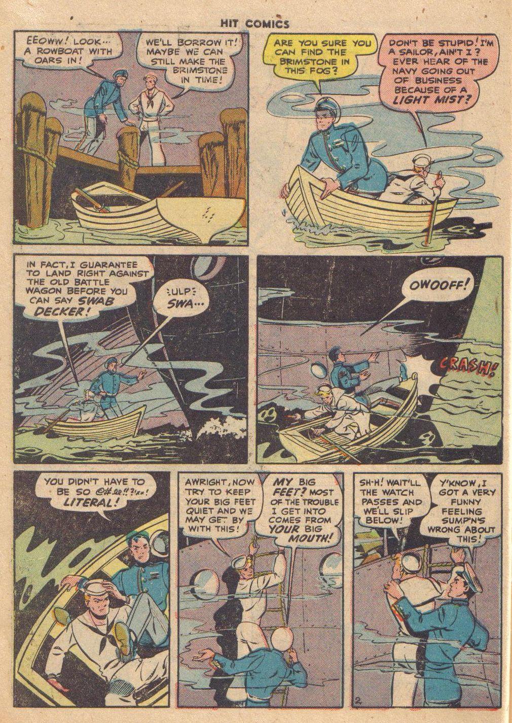 Read online Hit Comics comic -  Issue #46 - 46