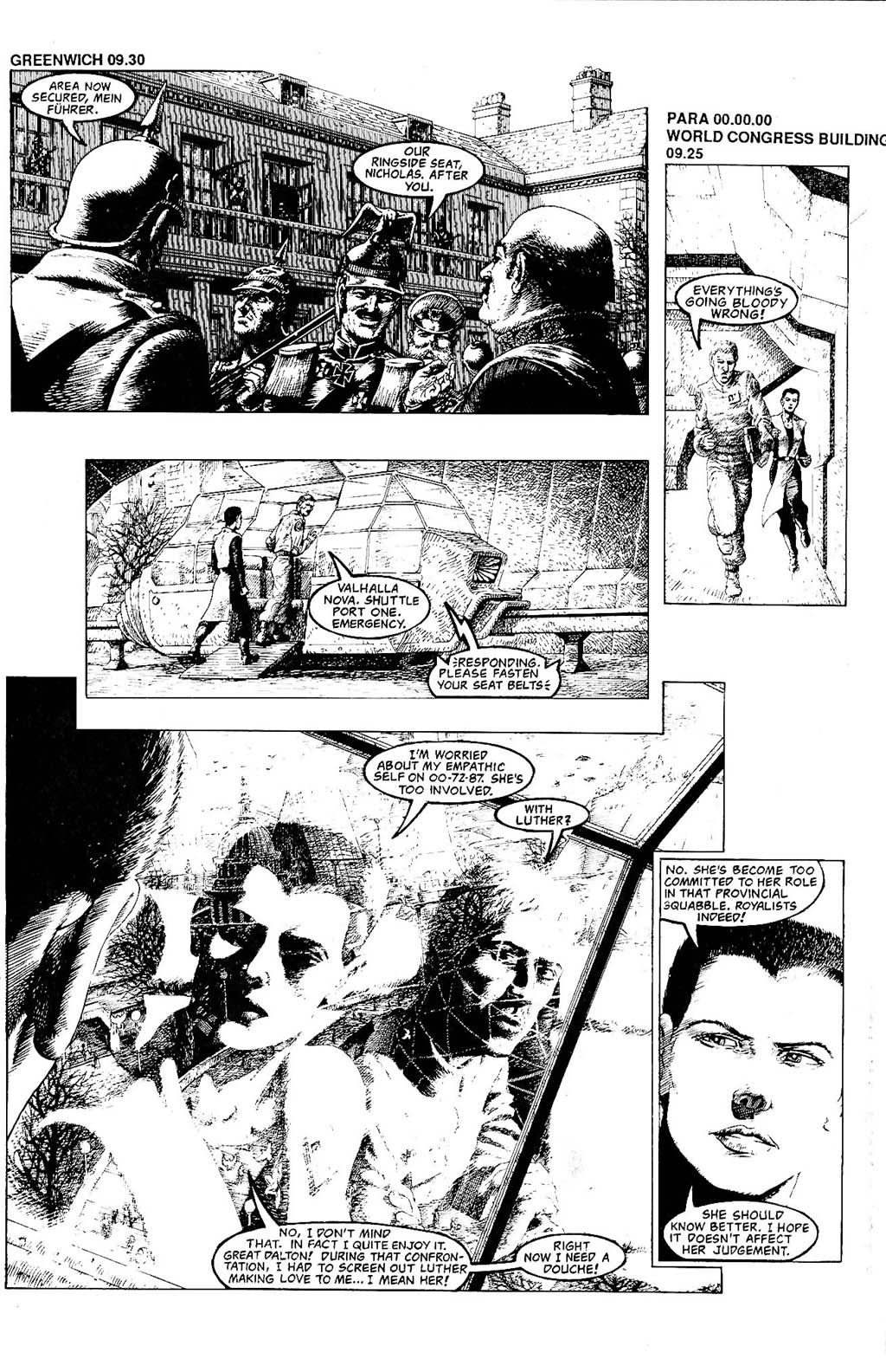Read online The Adventures of Luther Arkwright comic -  Issue #8 - 13