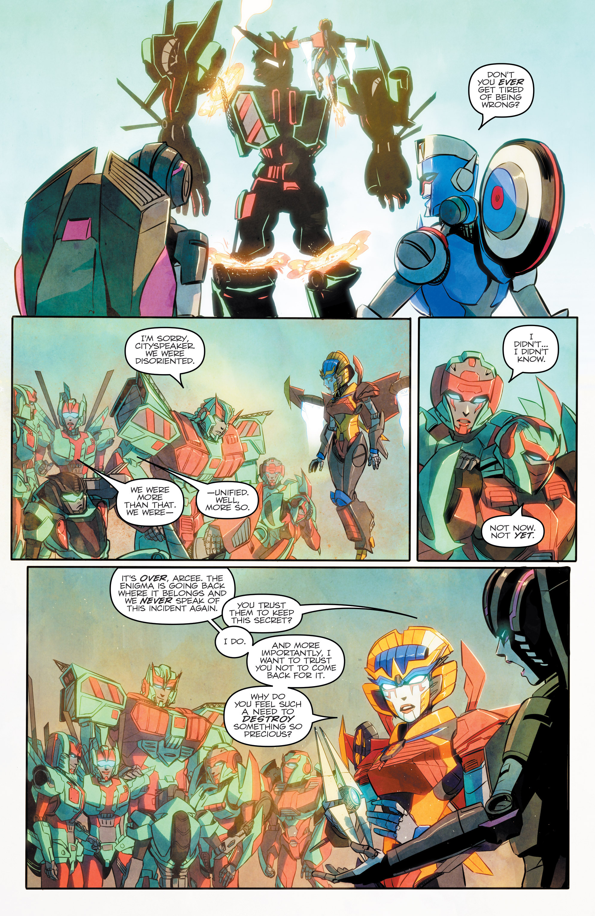 Read online Transformers: Combiner Hunters comic -  Issue # Full - 21
