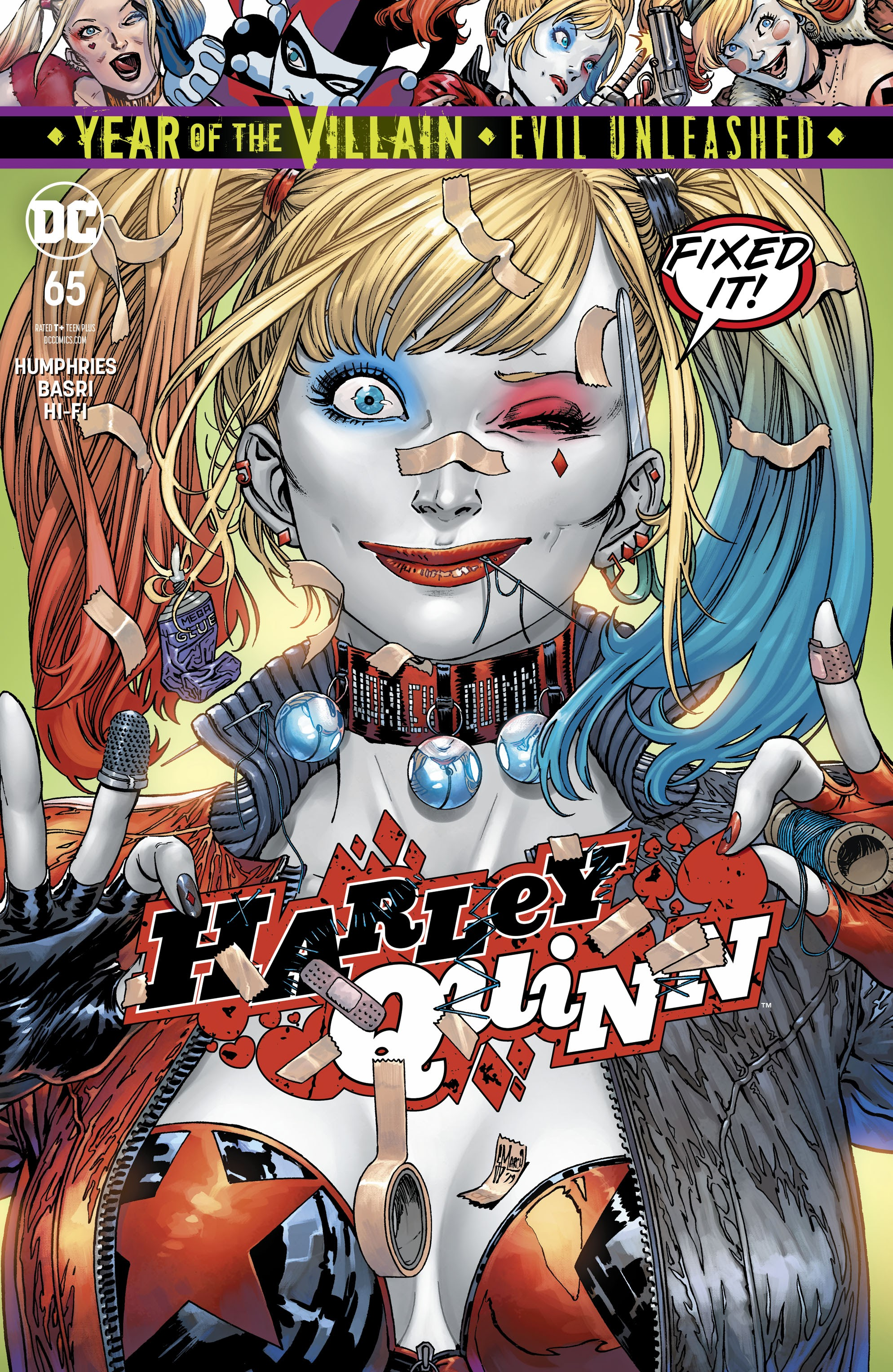 Harley Quinn (2016) 65 Page 1