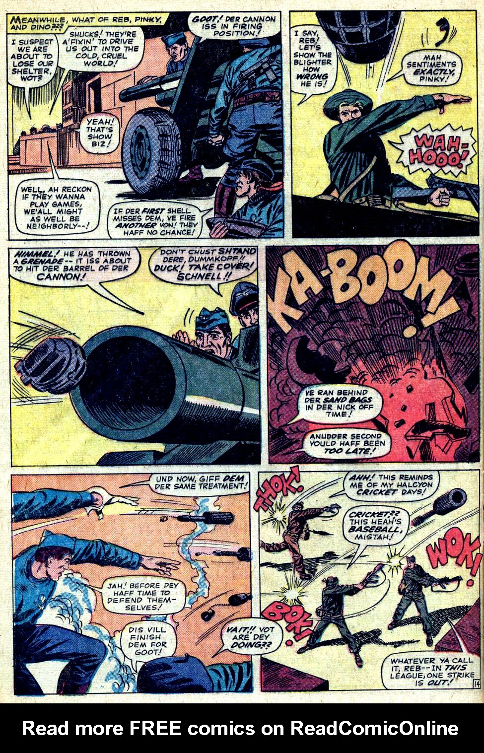Read online Sgt. Fury comic -  Issue #20 - 20
