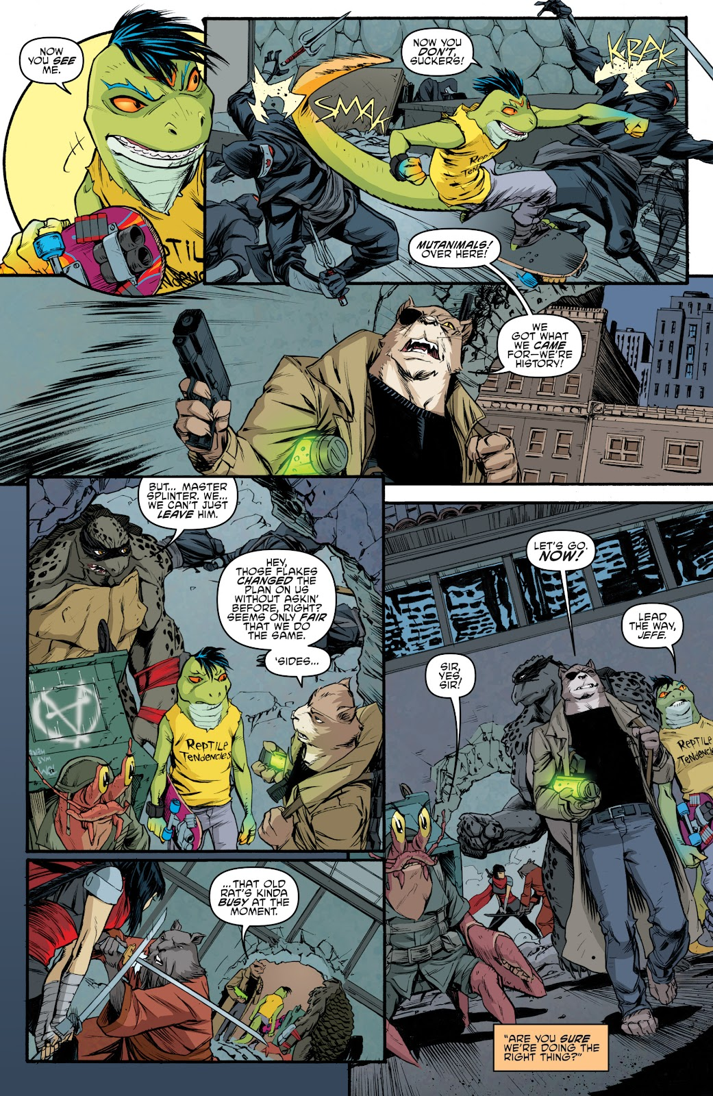 Read online Teenage Mutant Ninja Turtles: The IDW Collection comic -  Issue # TPB 5 (Part 4) - 25
