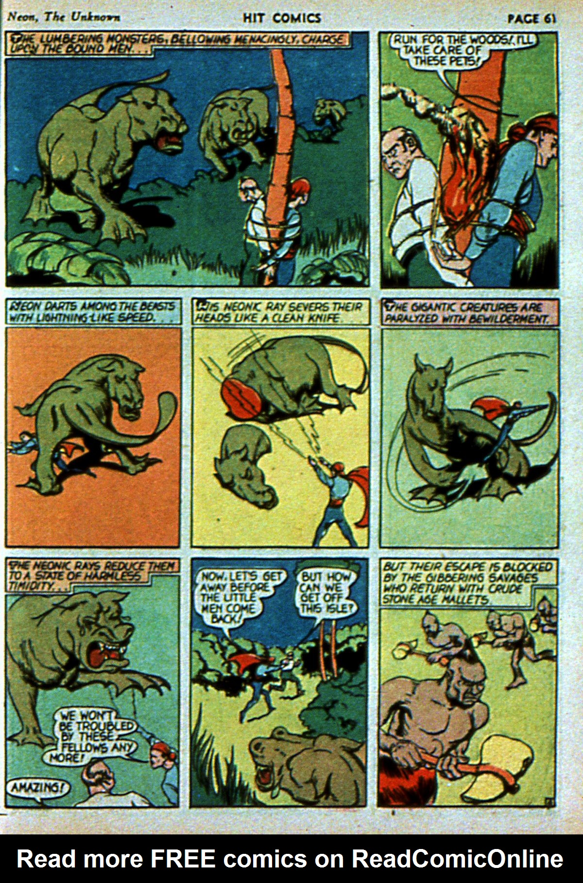 Read online Hit Comics comic -  Issue #3 - 63