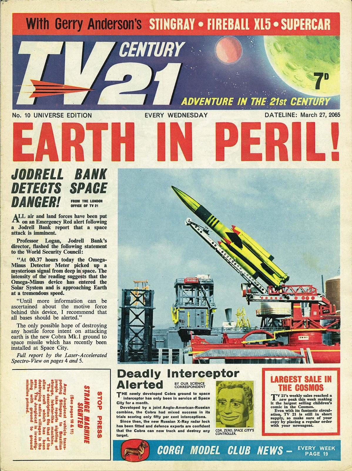 TV Century 21 (TV 21) 10 Page 1